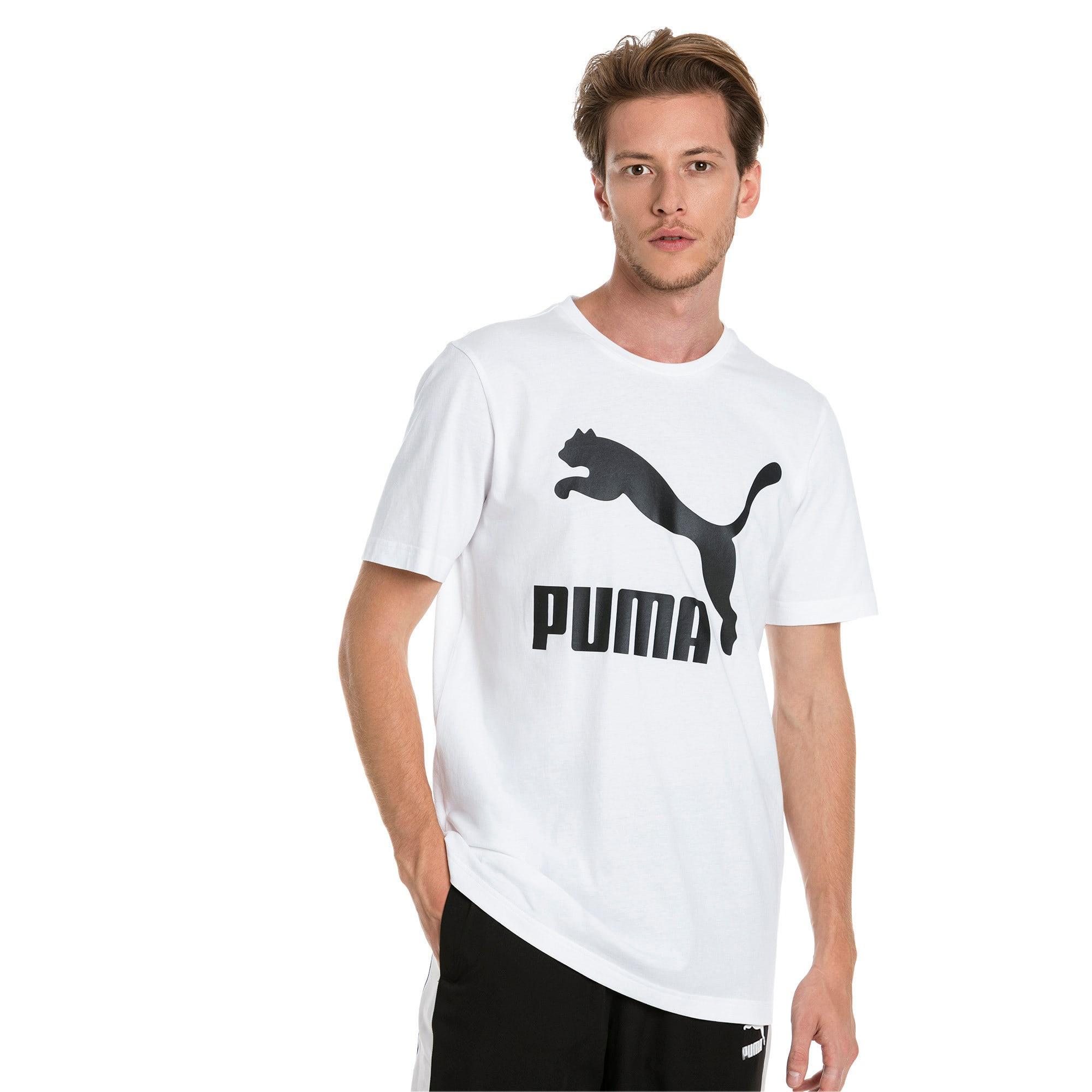 Miniatura 1 de Camiseta Classics con logo para hombre, Puma White, mediano