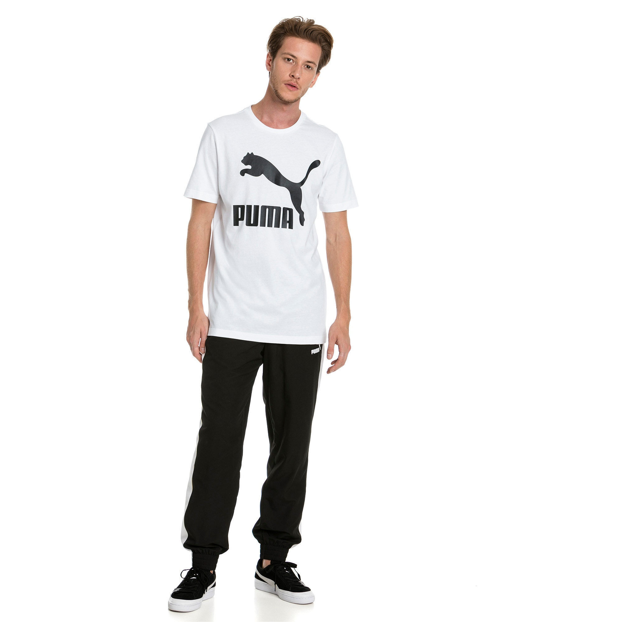 Thumbnail 3 of T-Shirt Classics Logo pour homme, Puma White, medium