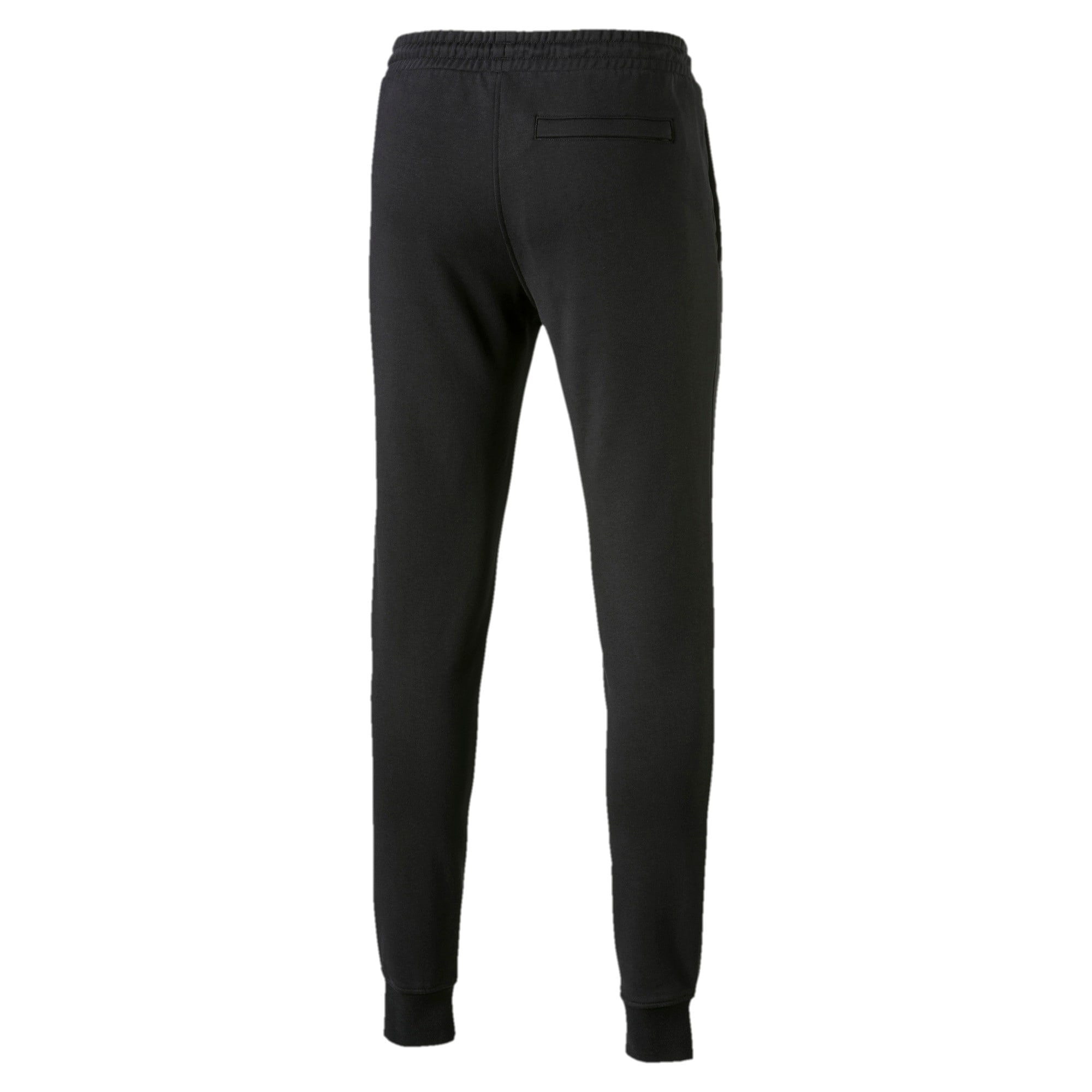 Thumbnail 3 of Classics Men's Cuffed Sweatpants, Cotton Black, medium