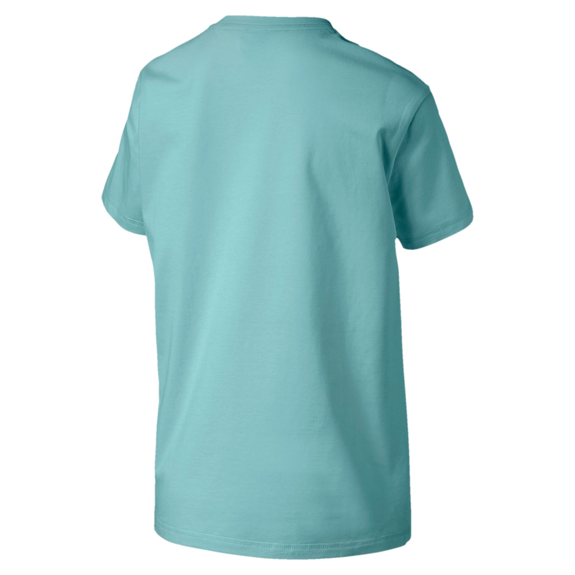 Thumbnail 4 of Downtown Short Sleeve Women's tee, Aquifer, medium