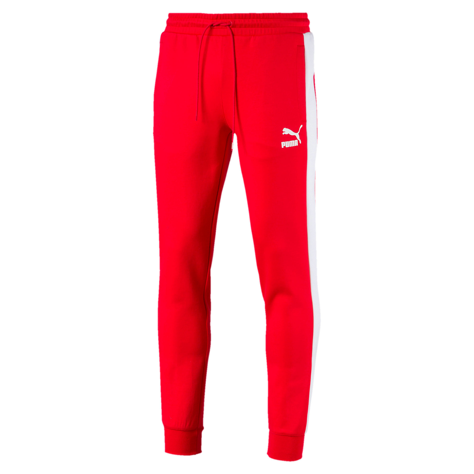 Thumbnail 1 of Archive Iconic T7 Double Knit Men's Track Pants, High Risk Red, medium