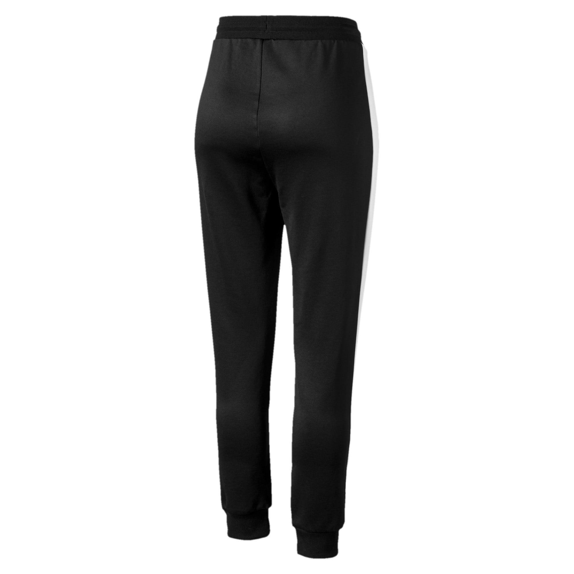 Thumbnail 5 of Classics T7 Knitted Women's Track Pants, Puma Black, medium