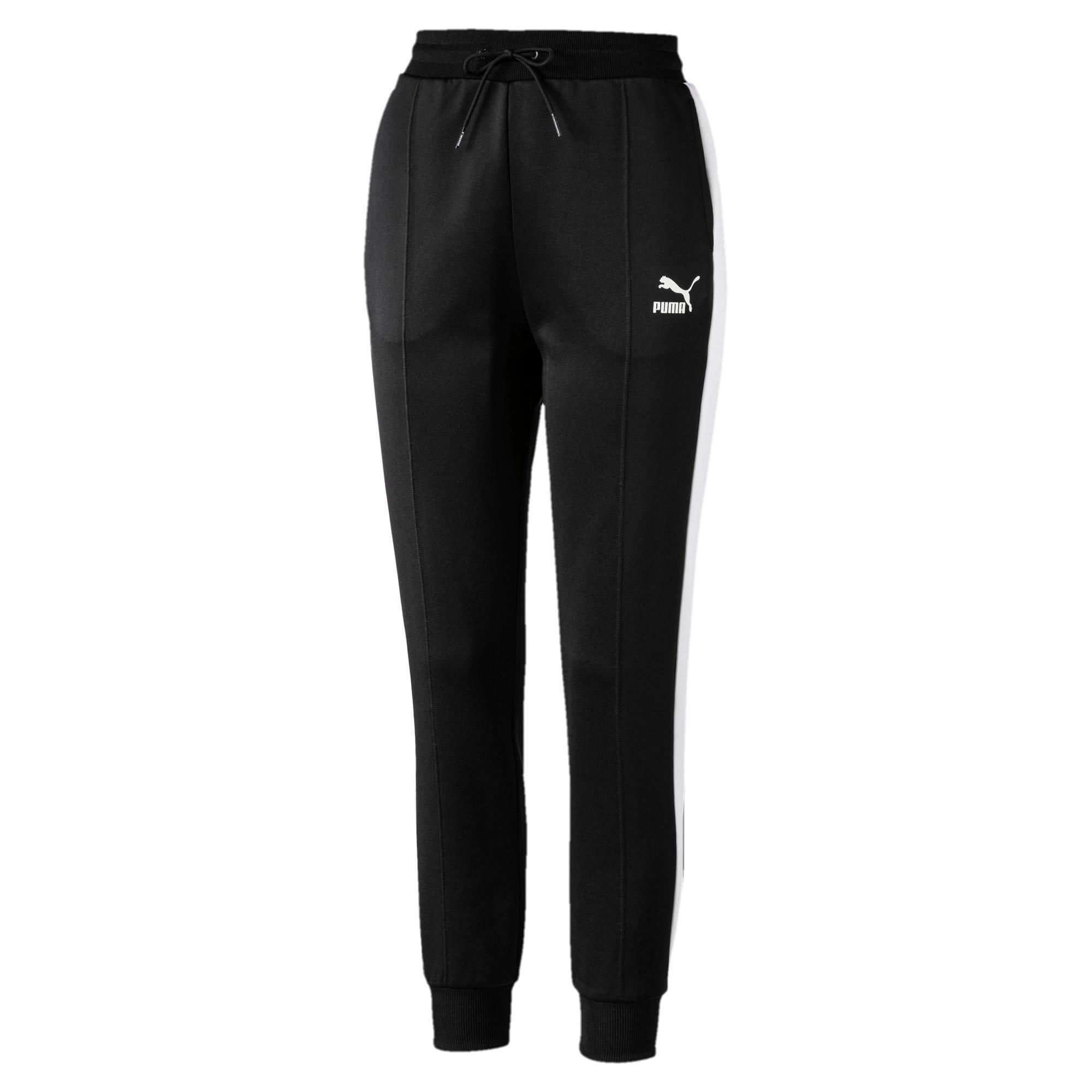 Thumbnail 4 of Classics T7 Knitted Women's Track Pants, Puma Black, medium