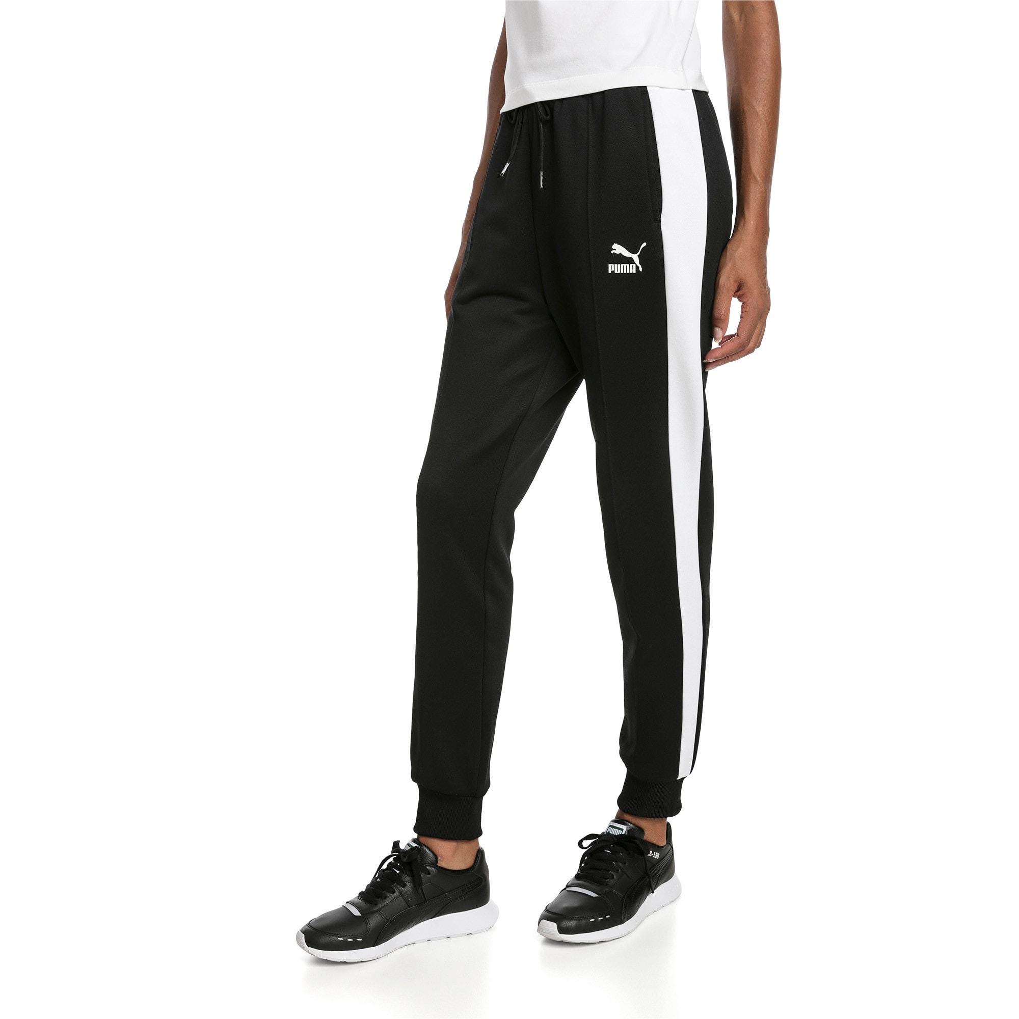 Thumbnail 1 of Classics T7 Knitted Women's Track Pants, Puma Black, medium