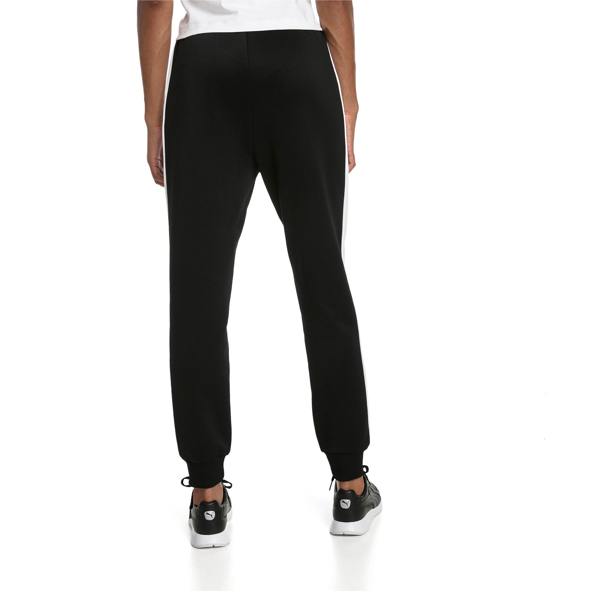 Thumbnail 2 of Classics T7 Knitted Women's Track Pants, Puma Black, medium