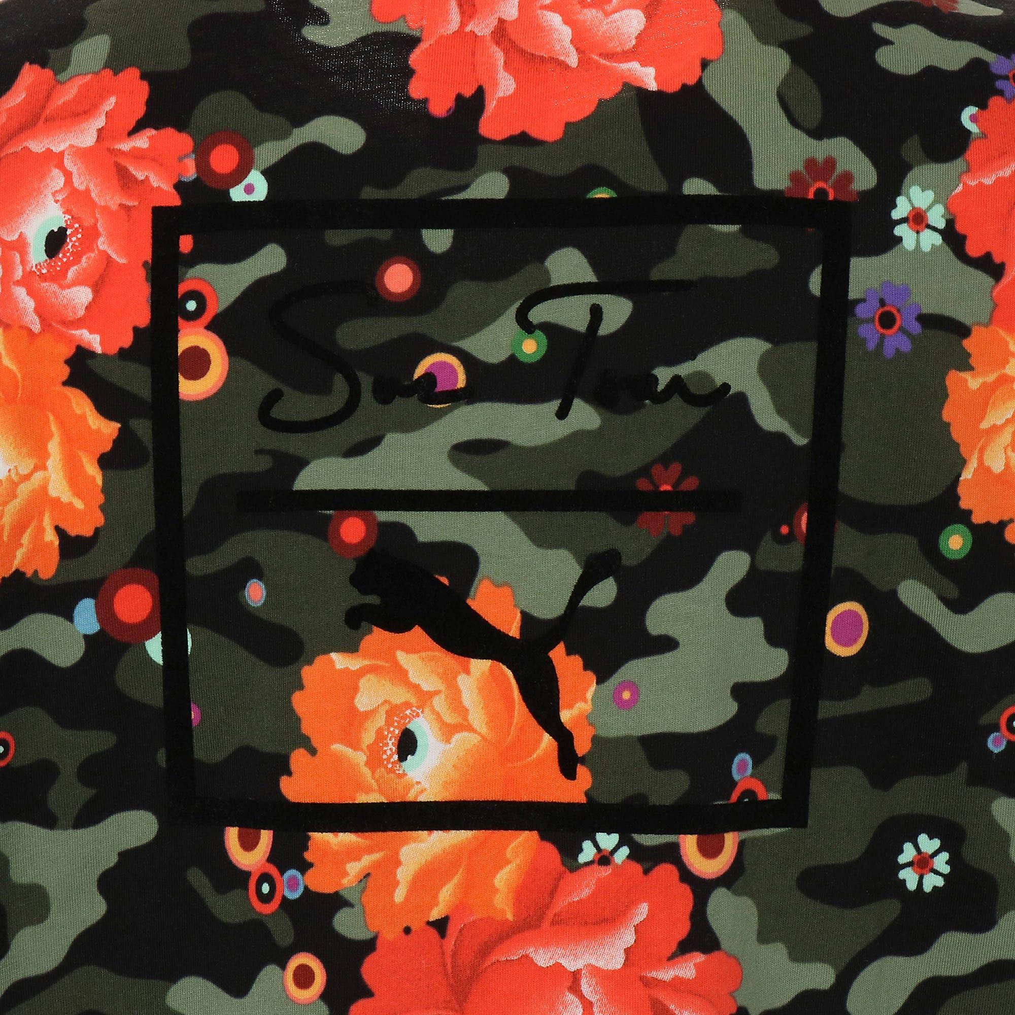 Thumbnail 10 of PUMA x SUE TSAI ウィメンズ  Tシャツ, Puma Black- Peony, medium-JPN