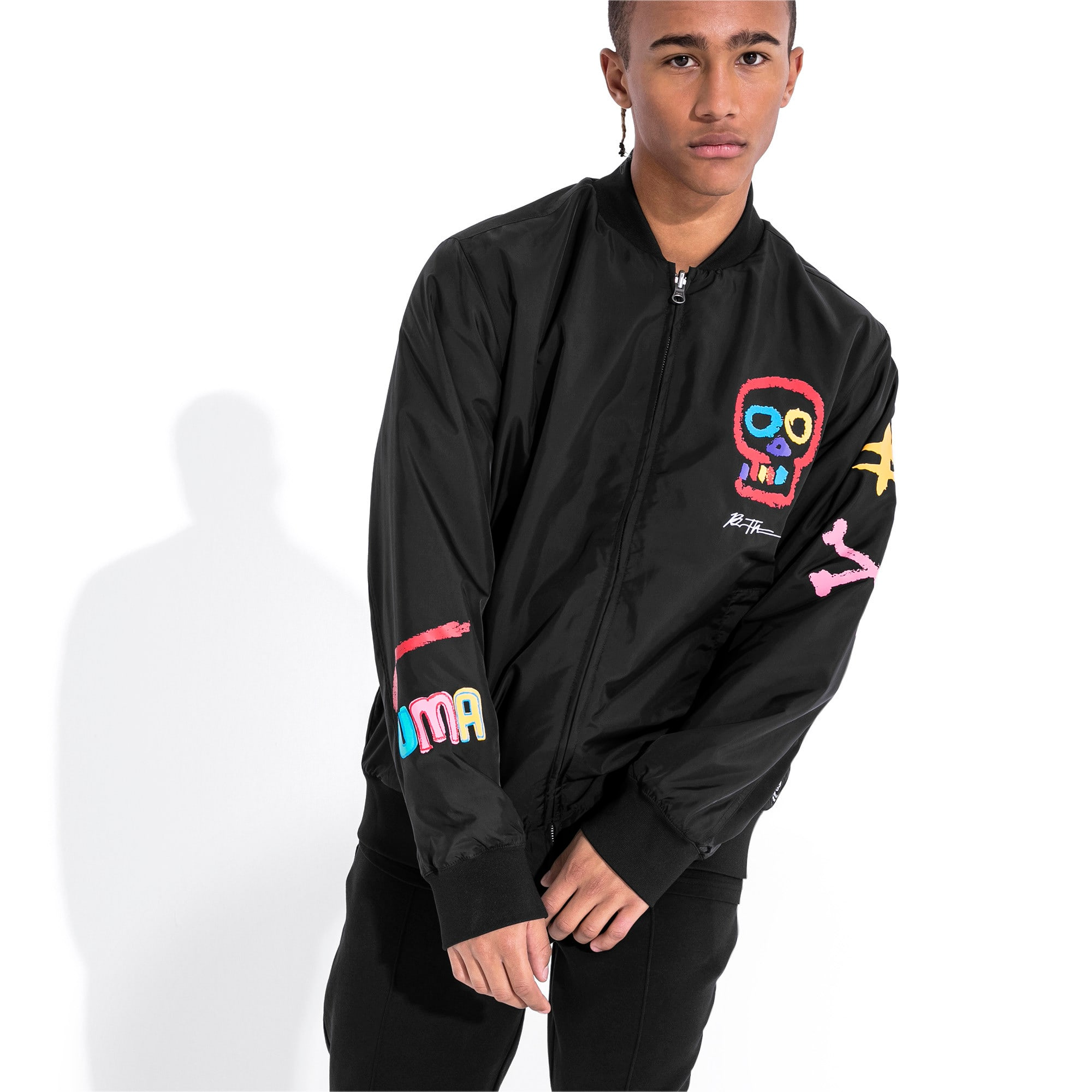 Thumbnail 1 of PUMA x BRADLEY THEODORE REV. BOMBER, Puma Black, medium-JPN