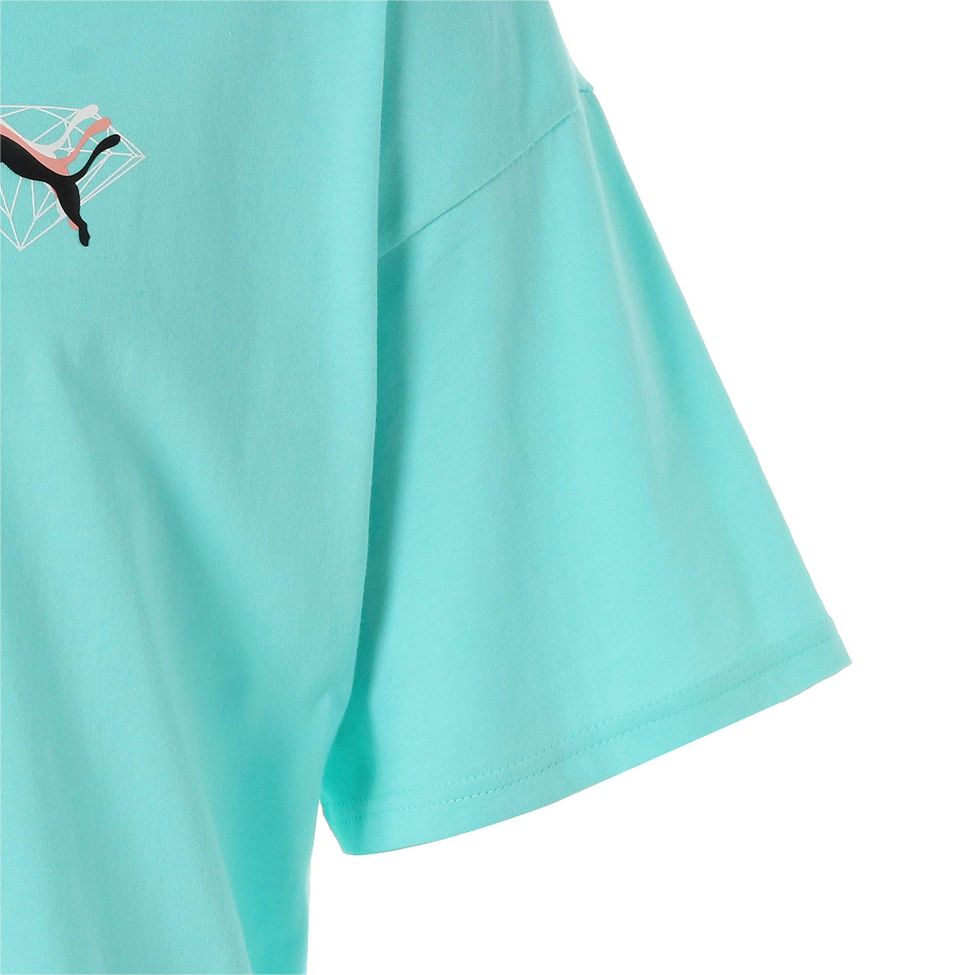 Thumbnail 8 of PUMA x DIAMOND Tシャツ, ARUBA BLUE, medium-JPN