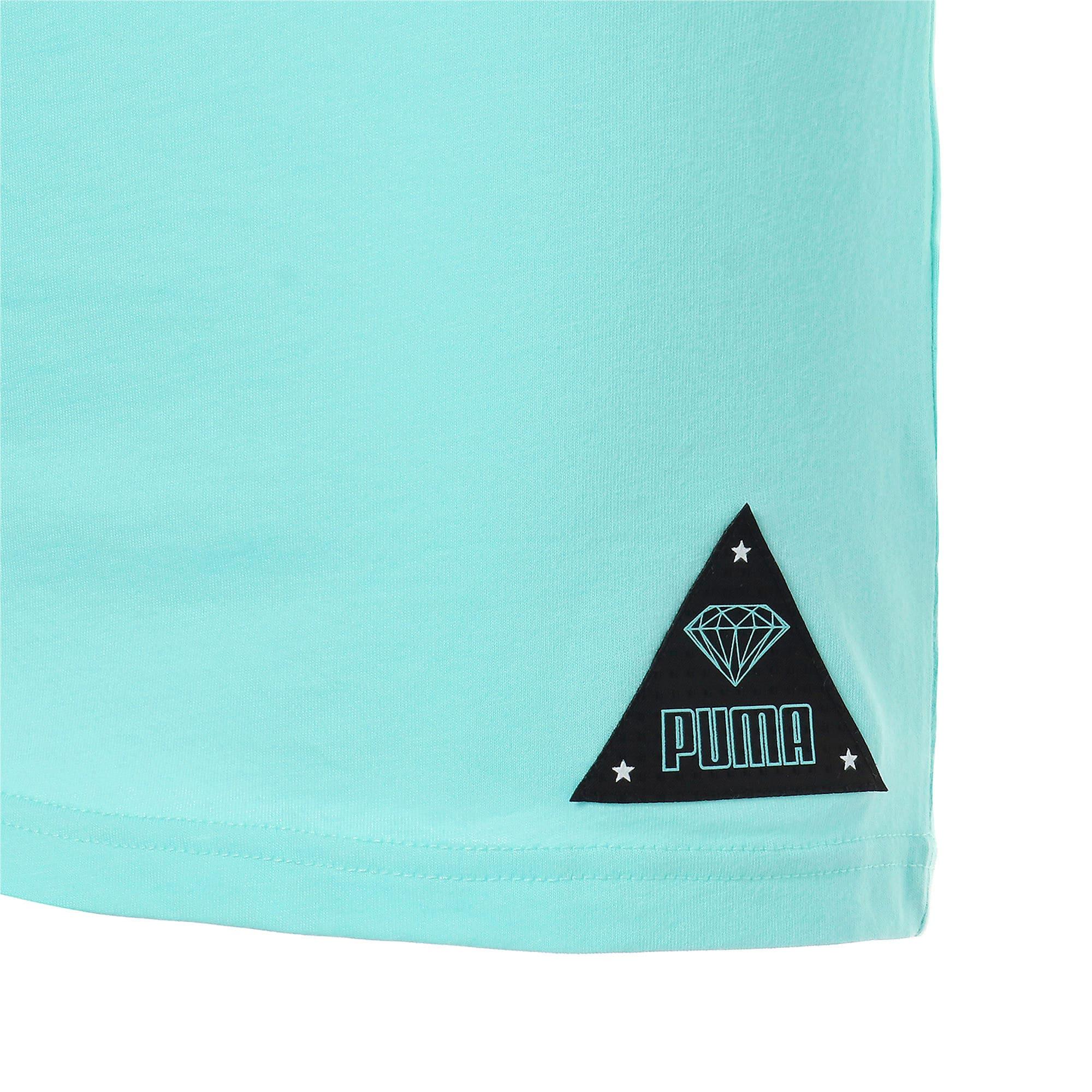 Thumbnail 9 of PUMA x DIAMOND Tシャツ, ARUBA BLUE, medium-JPN