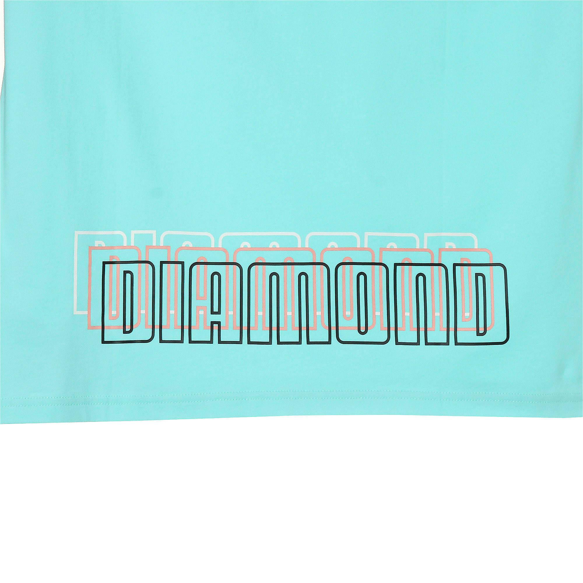 Thumbnail 10 of PUMA x DIAMOND Tシャツ, ARUBA BLUE, medium-JPN