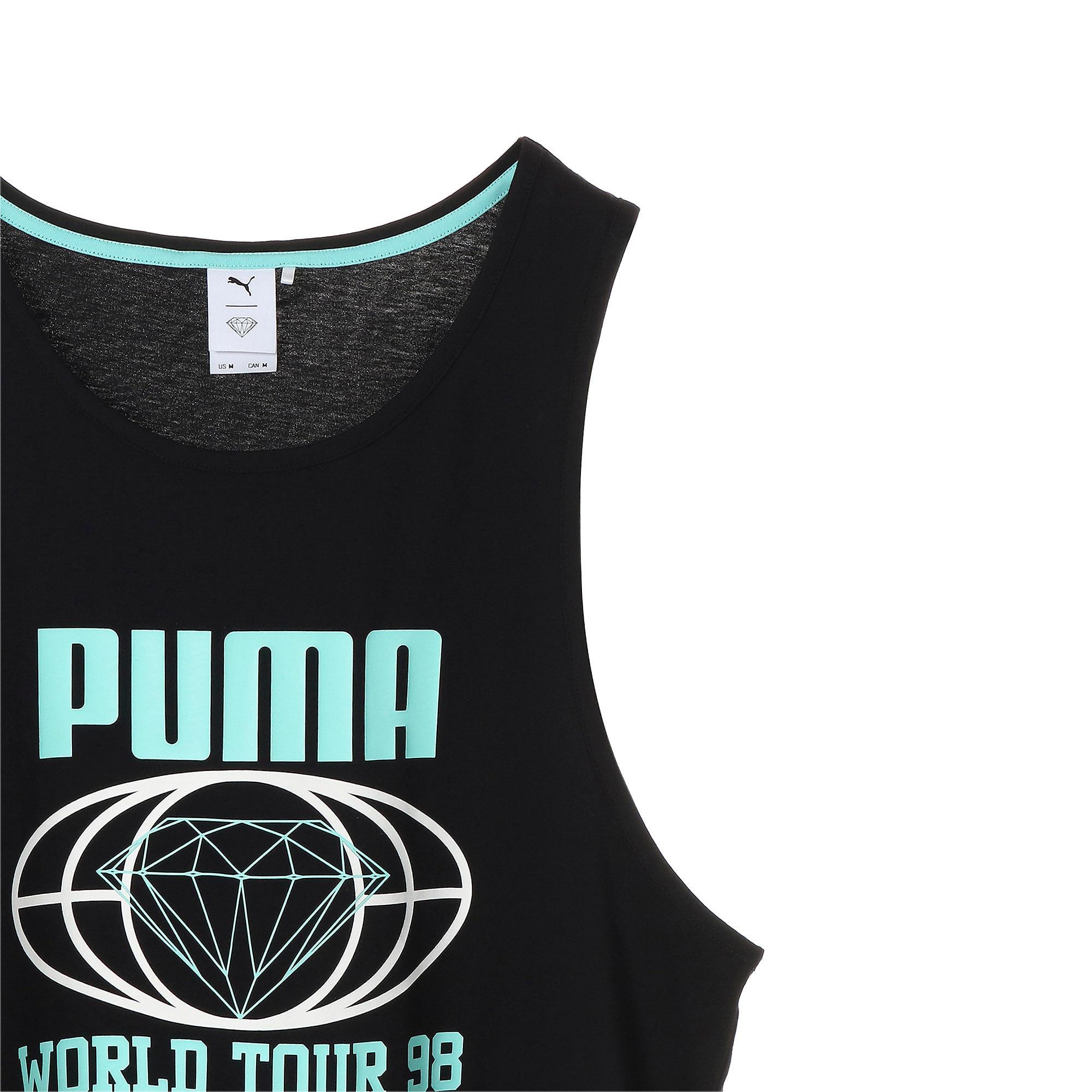 Thumbnail 9 of PUMA x DIAMOND タンク, Puma Black, medium-JPN