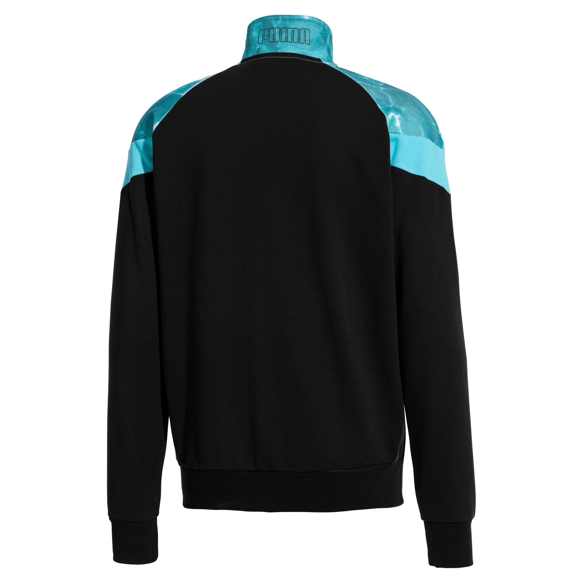 Thumbnail 3 of MCS Pool Men's Track Jacket, Puma Black, medium