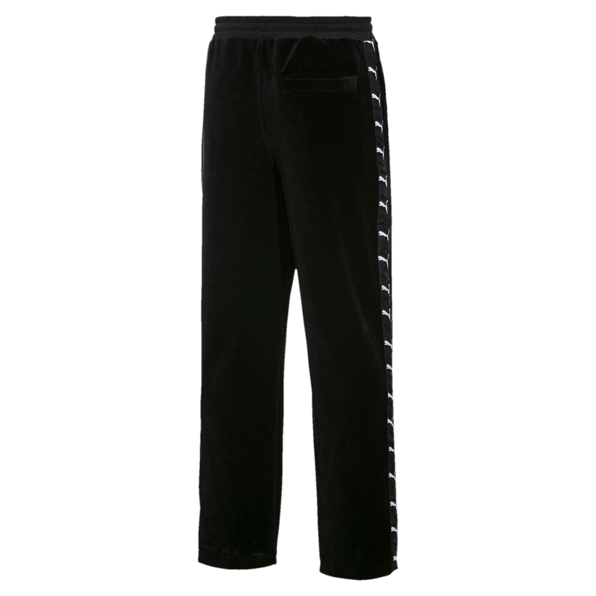 Thumbnail 2 of PUMA x THE KOOPLES Men's Velour Track Pants, Puma Black, medium