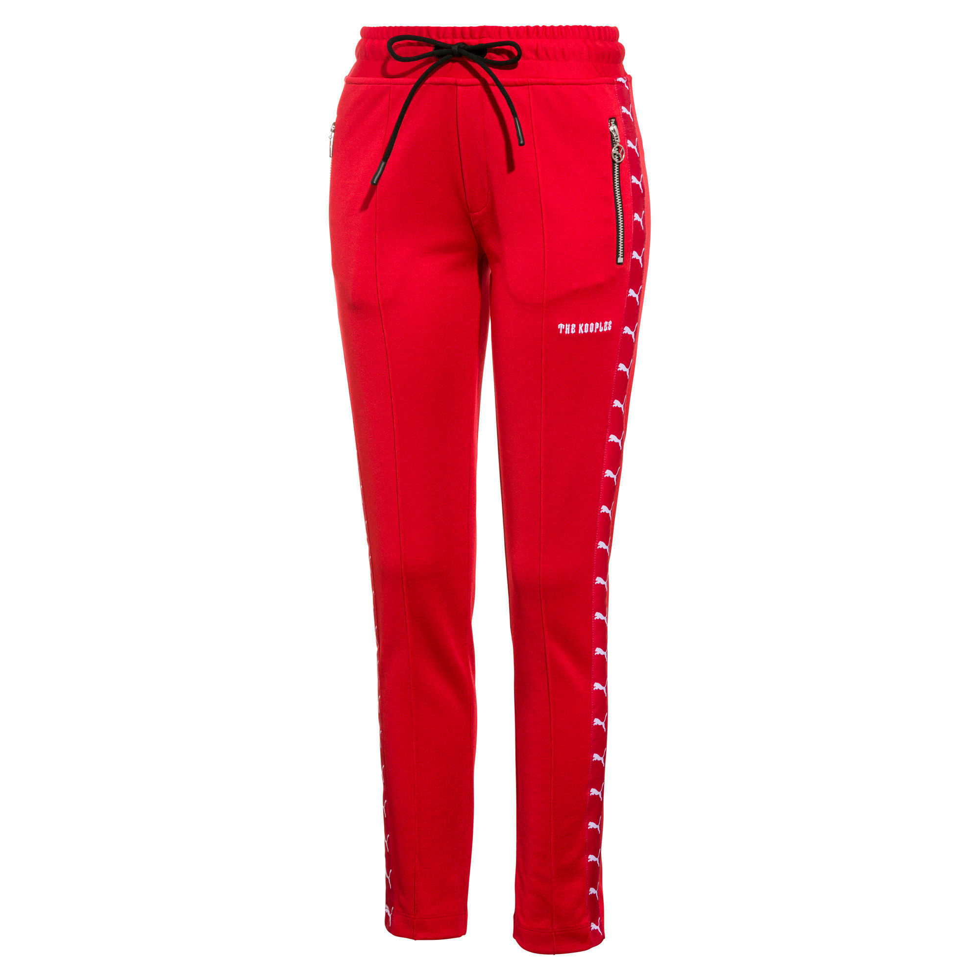 PUMA x THE KOOPLES Women's Track Pants, High Risk Red, large