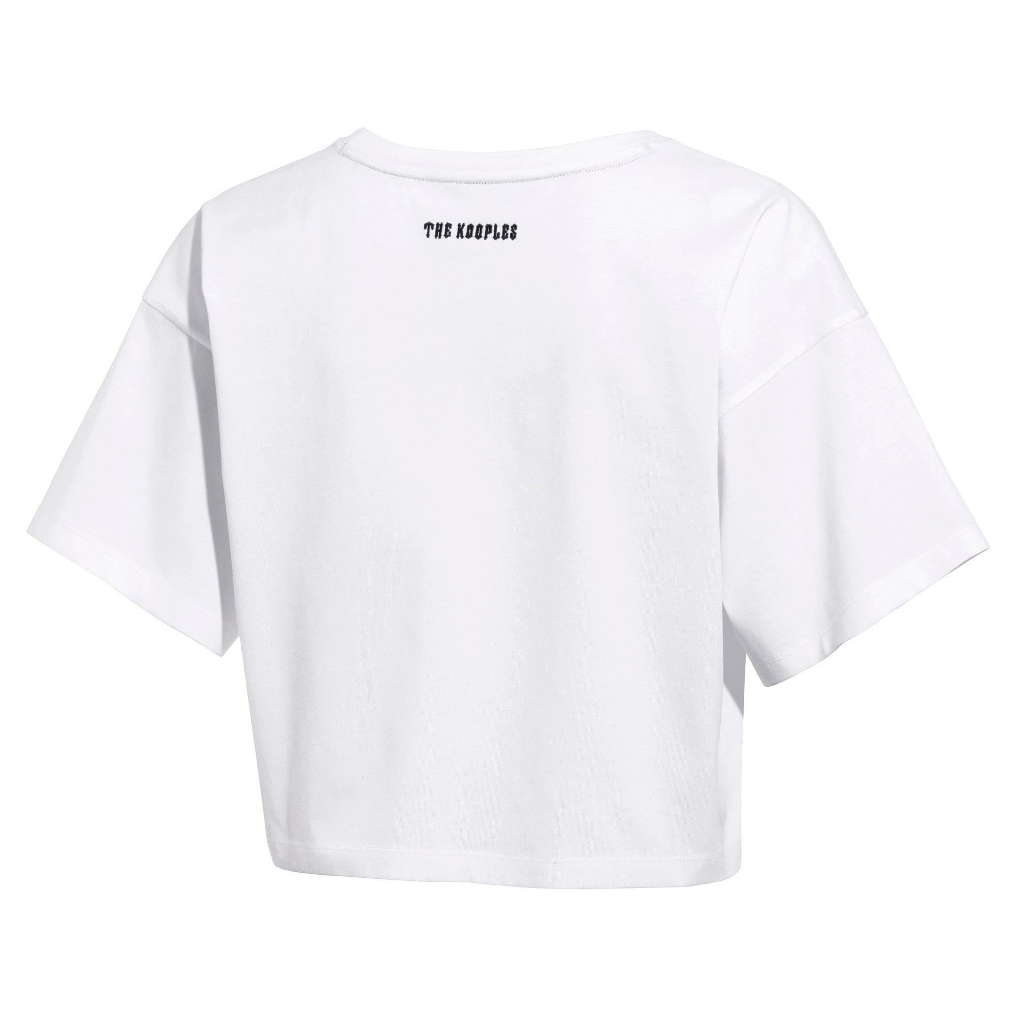 Miniatura 2 de Camiseta PUMA x THE KOOPLES para mujer, Puma White, mediano