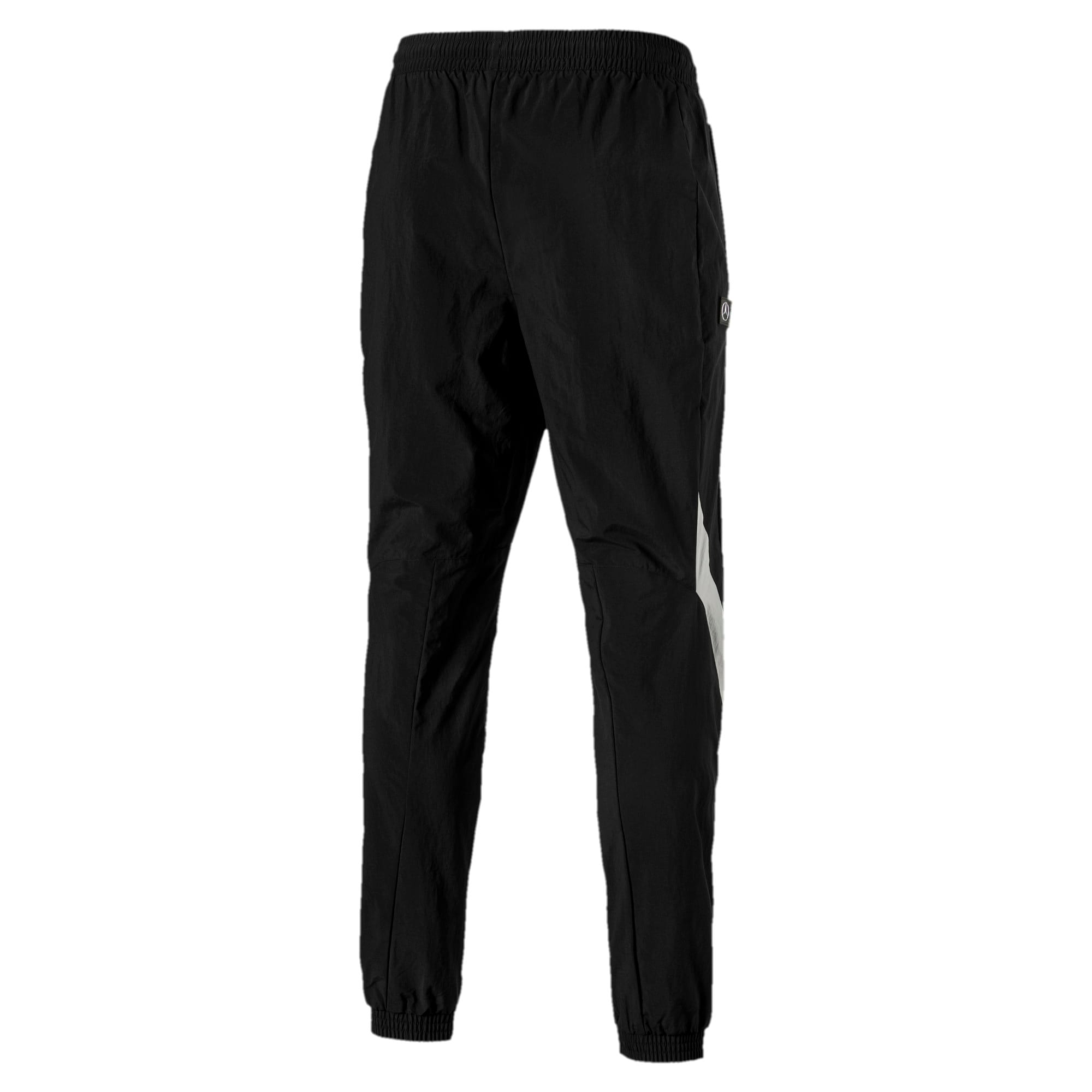 Thumbnail 2 of MERCEDES AMG PETRONAS Herren Gewebte Hose, Puma Black, medium