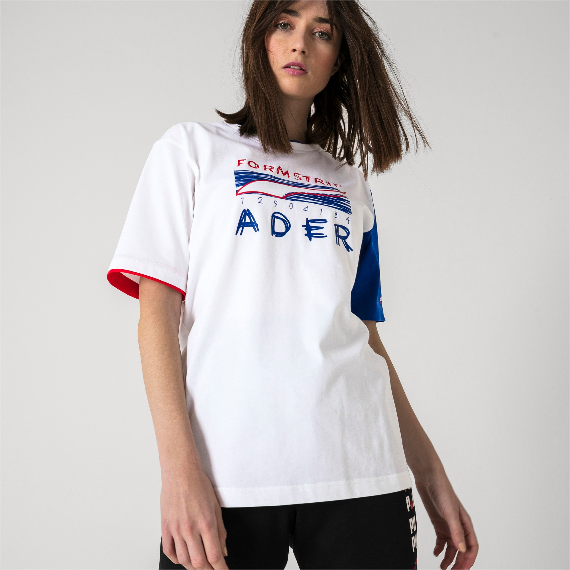 Thumbnail 6 of PUMA x ADER T-Shirt, Puma White, medium