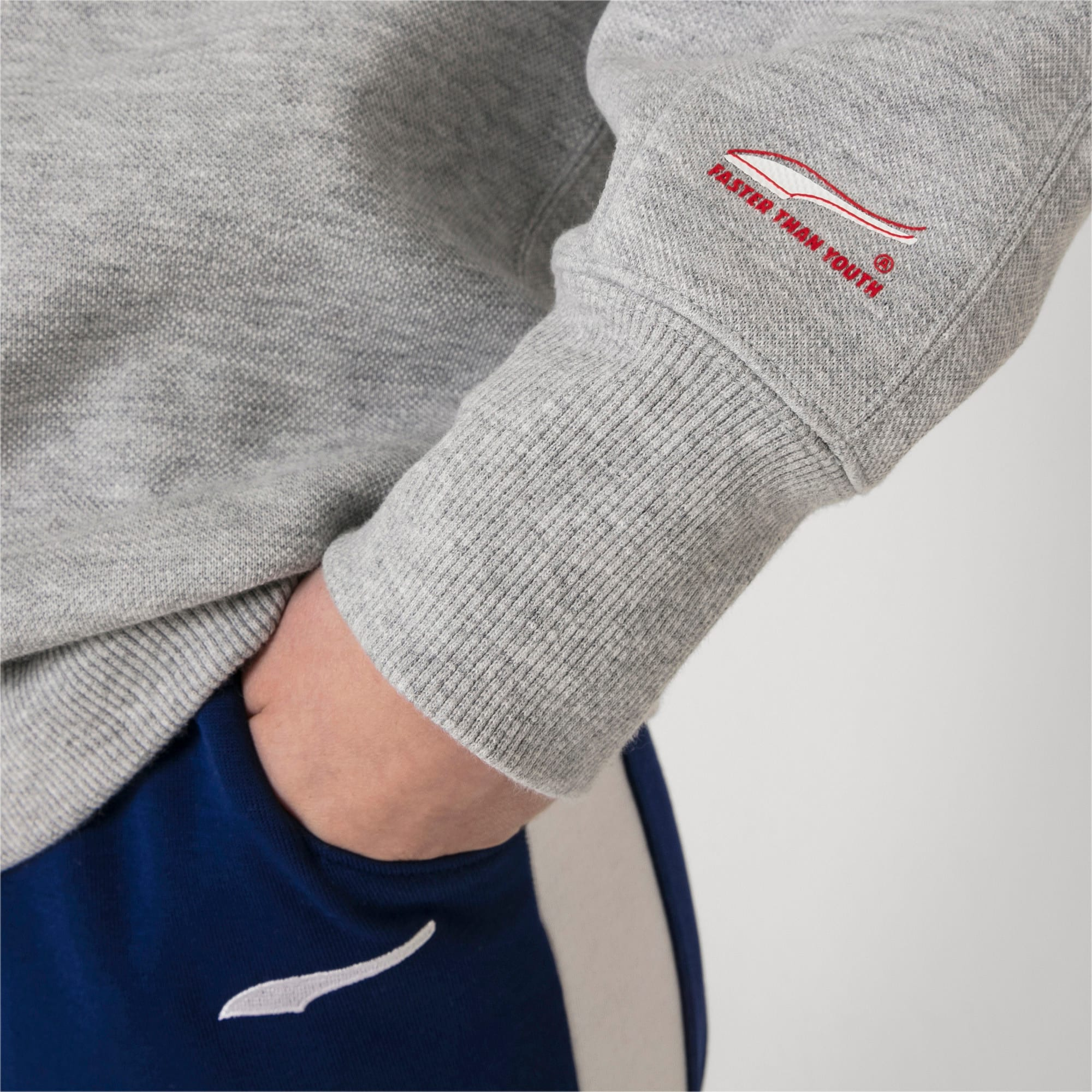 Thumbnail 9 of PUMA x ADER ERROR Hoodie, Light Gray Heather, medium