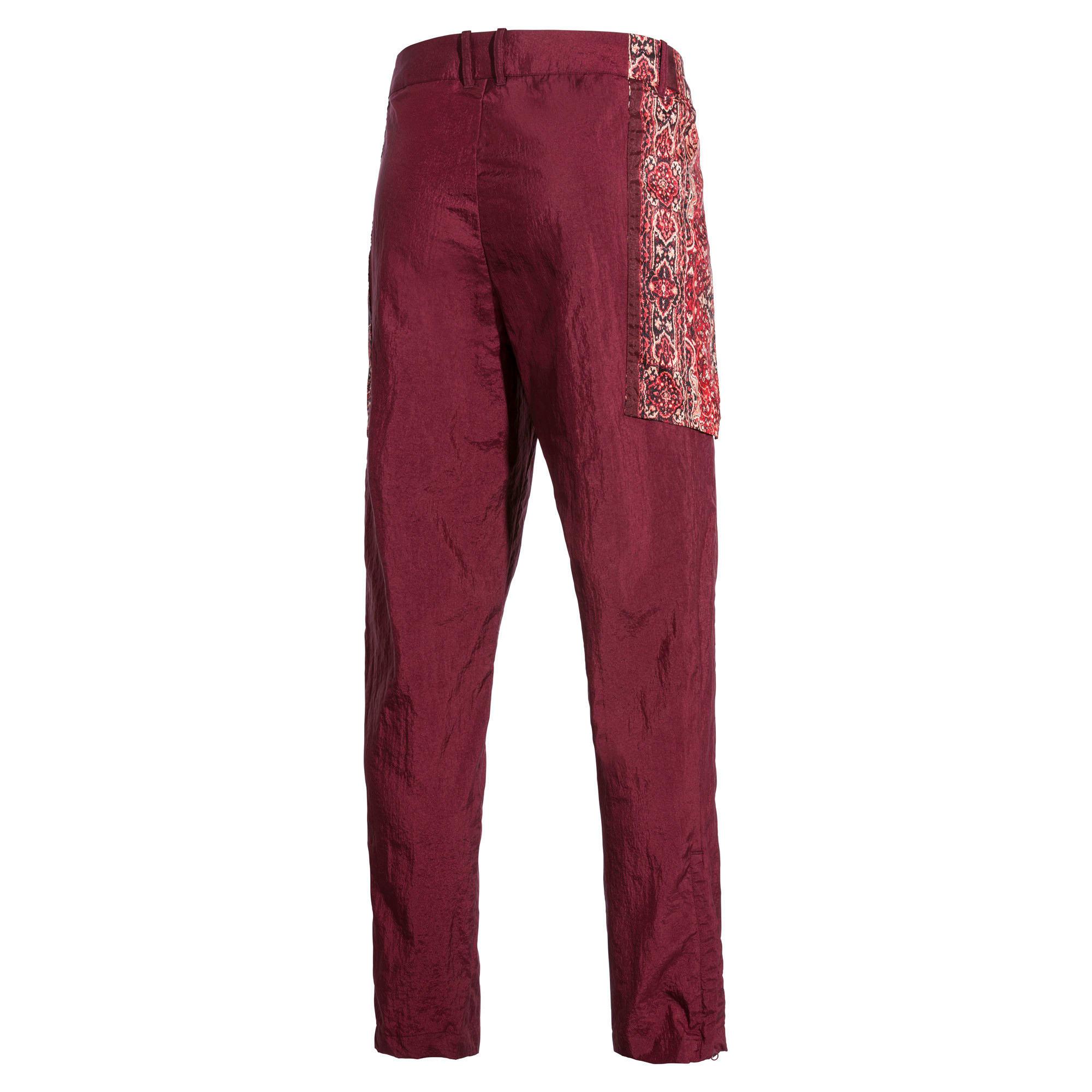 Miniatura 6 de Pantalones deportivos PUMA x LES BENJAMINS para hombre, Burgundy, mediano