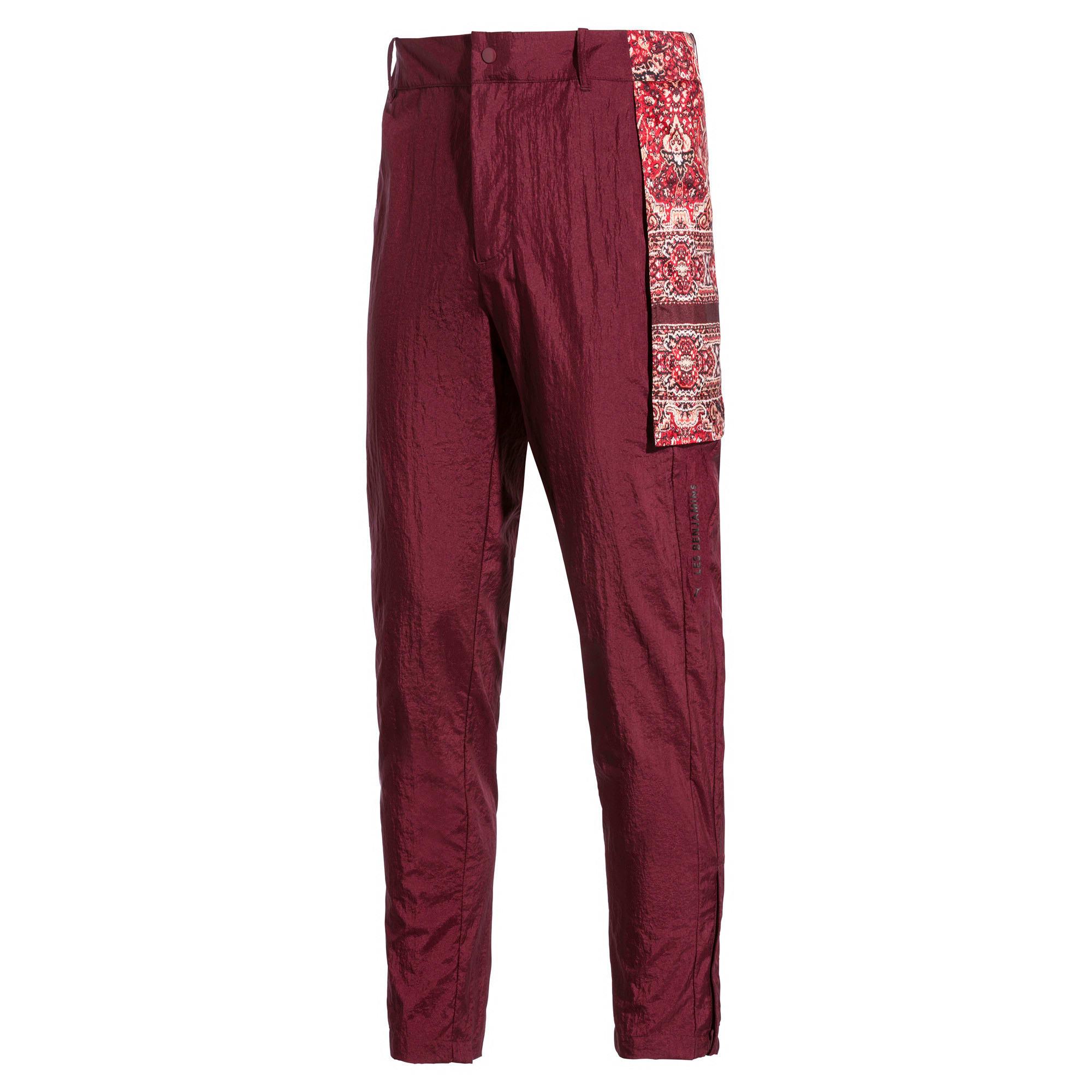 Miniatura 5 de Pantalones deportivos PUMA x LES BENJAMINS para hombre, Burgundy, mediano