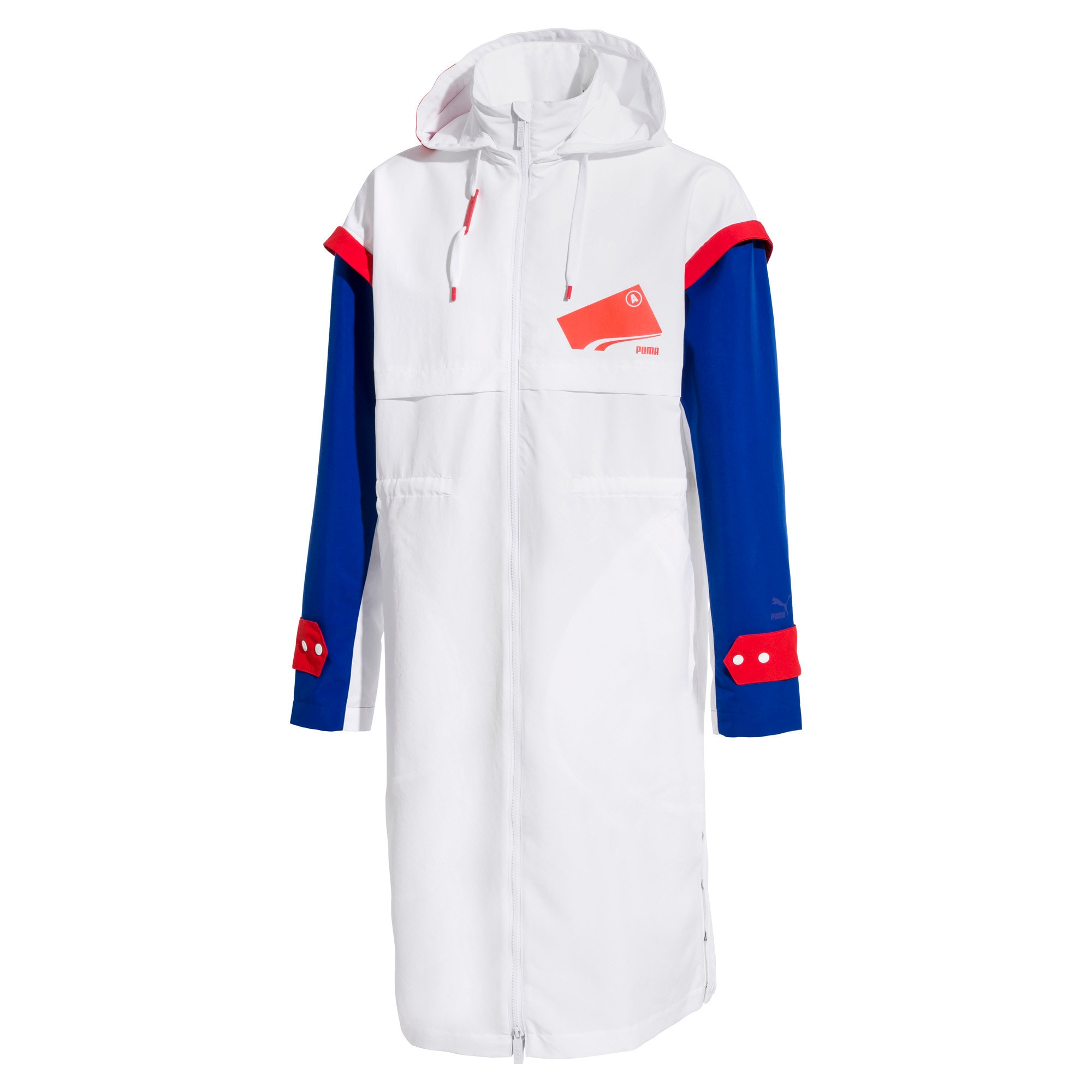 Thumbnail 1 of PUMA x ADER ERROR Parka, Puma White, medium