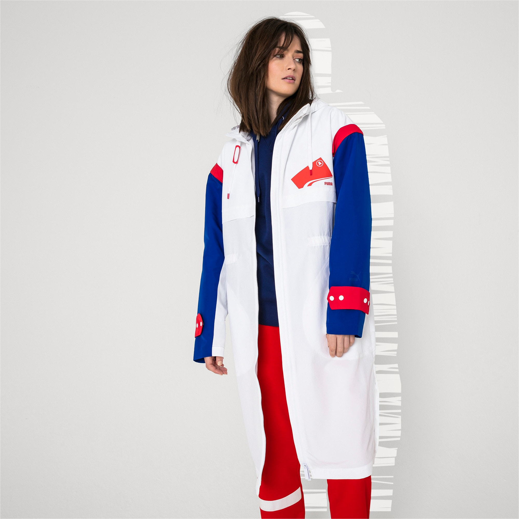 Thumbnail 6 of PUMA x ADER ERROR Parka, Puma White, medium