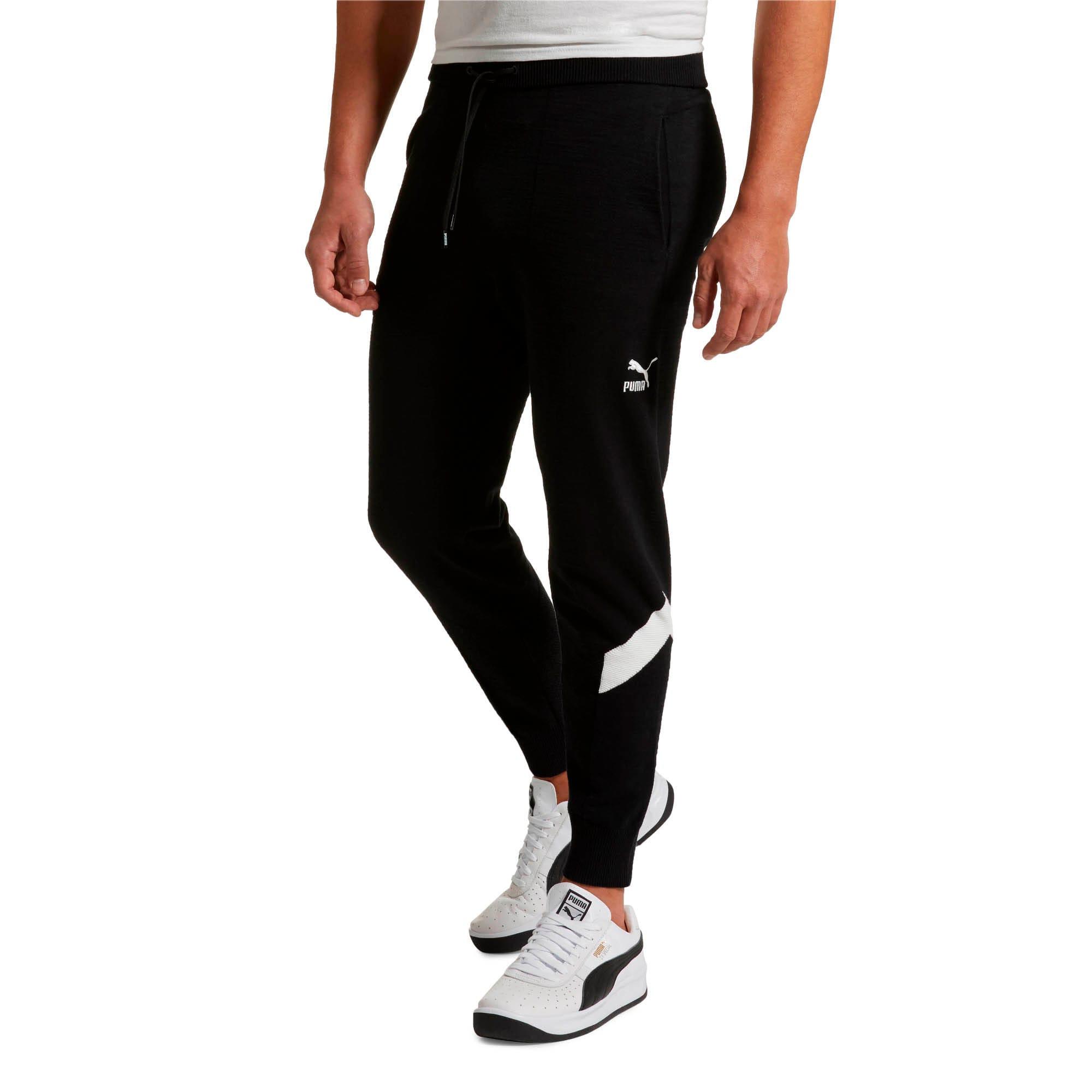 Thumbnail 2 of Iconic MCS Men's evoKNIT Pants, Puma Black, medium