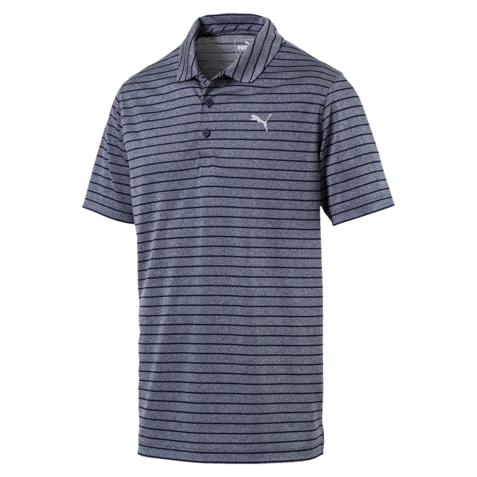 Rotation Men's Striped Polo, Peacoat, large