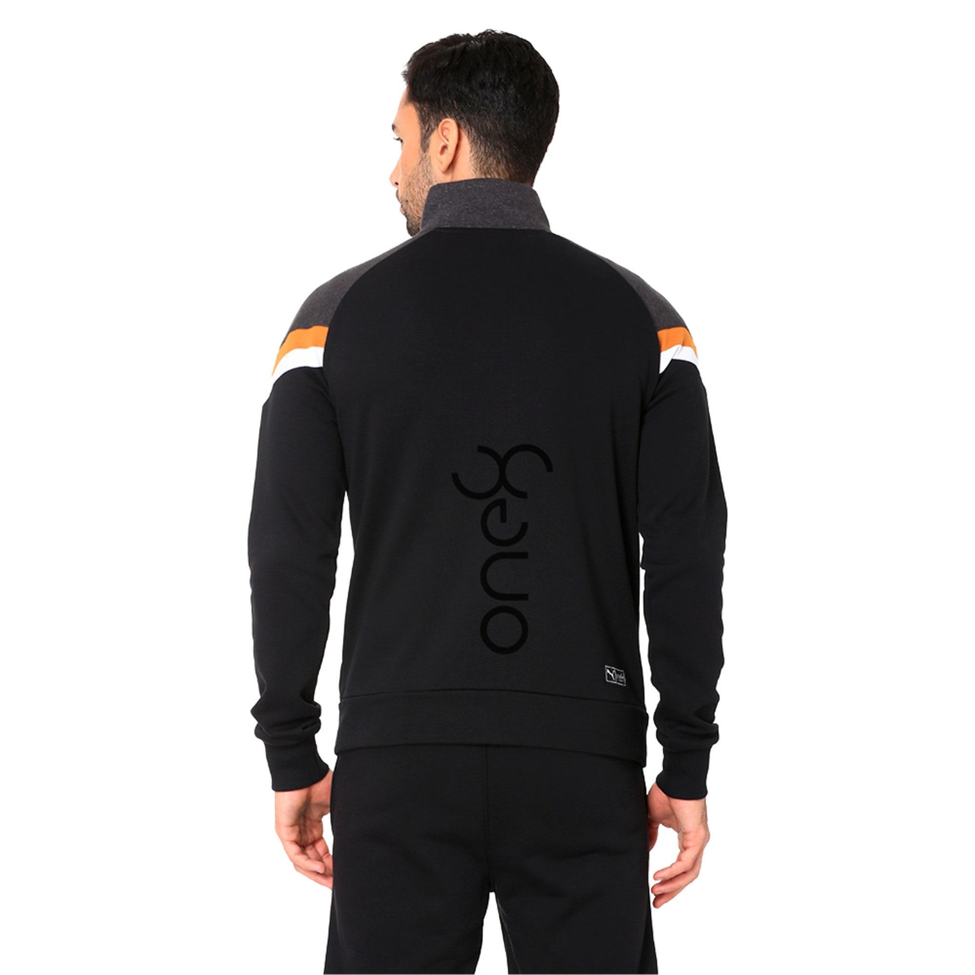 Thumbnail 2 of One8 VK Men's Jacket, Puma Black, medium-IND