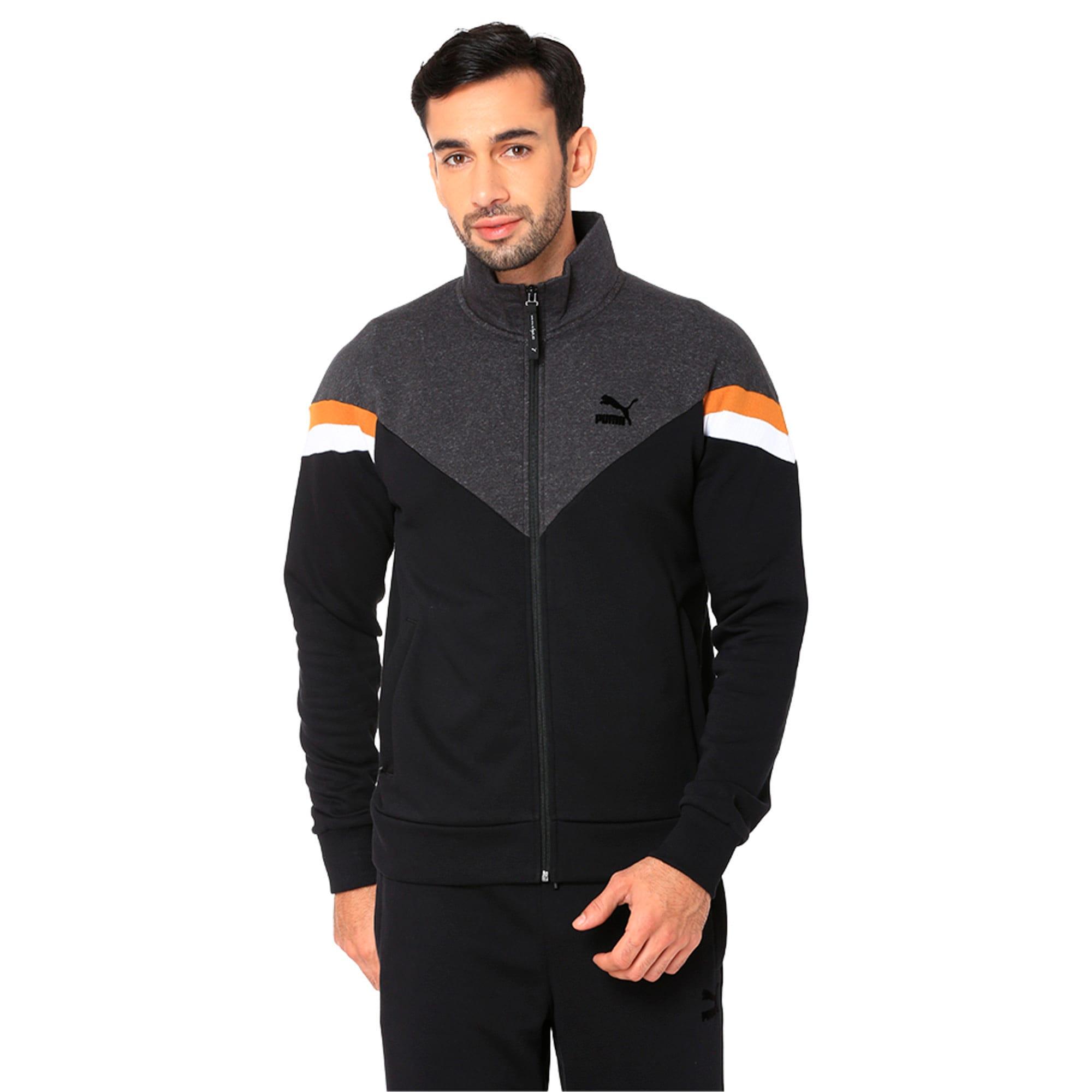 Thumbnail 1 of One8 VK Men's Jacket, Puma Black, medium-IND
