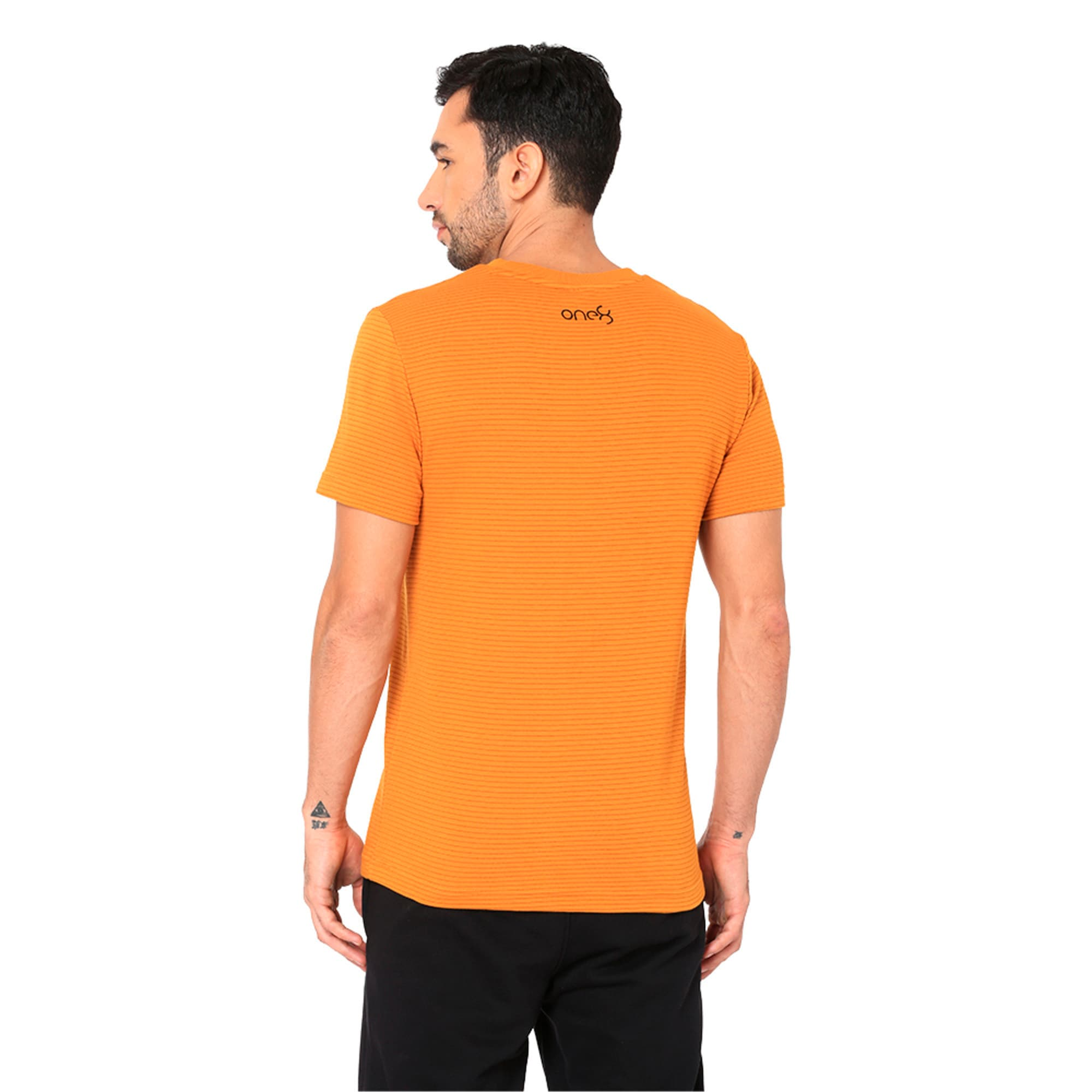 Thumbnail 5 of One8 VK Men's Tee, Buckthorn Brown, medium-IND