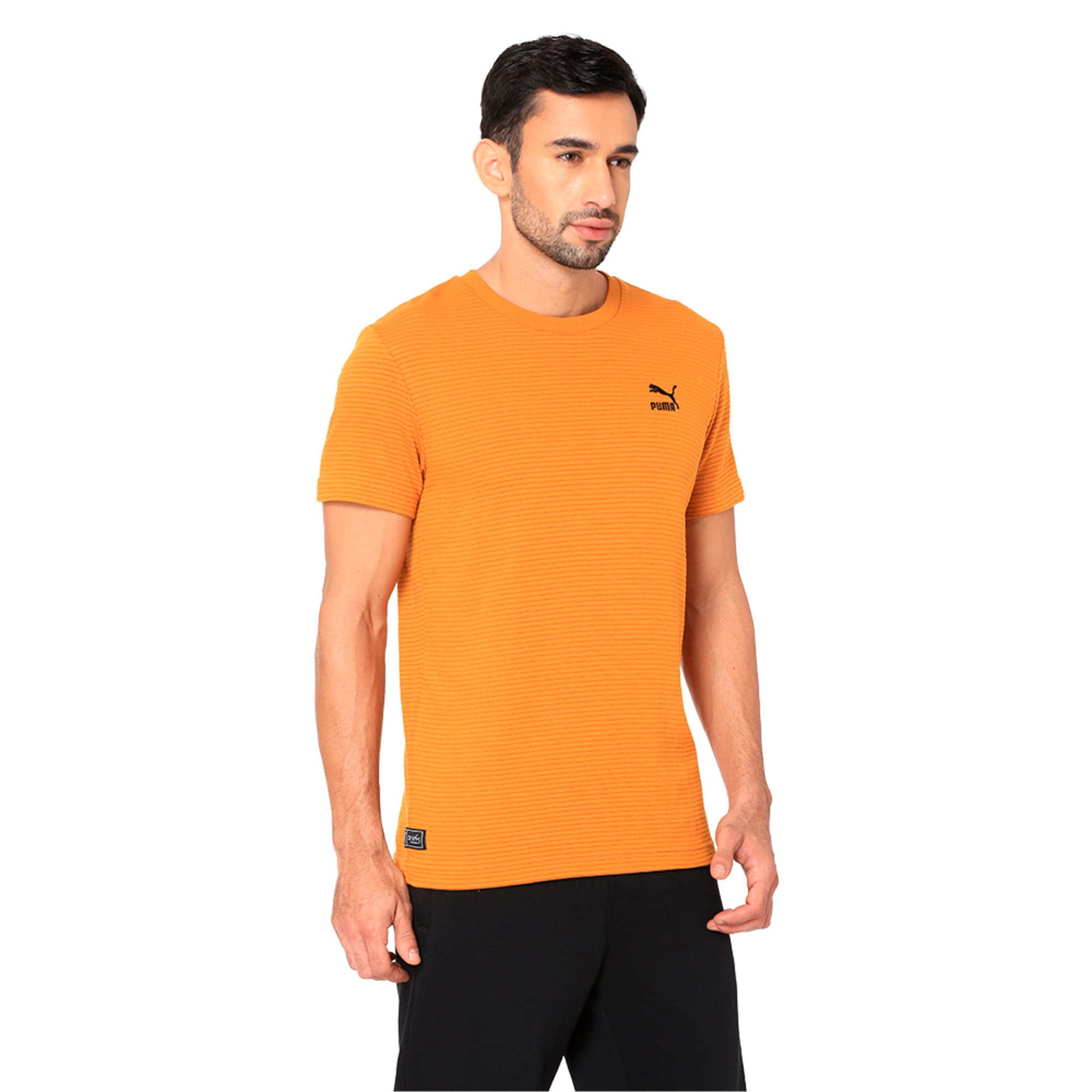Thumbnail 3 of One8 VK Men's Tee, Buckthorn Brown, medium-IND