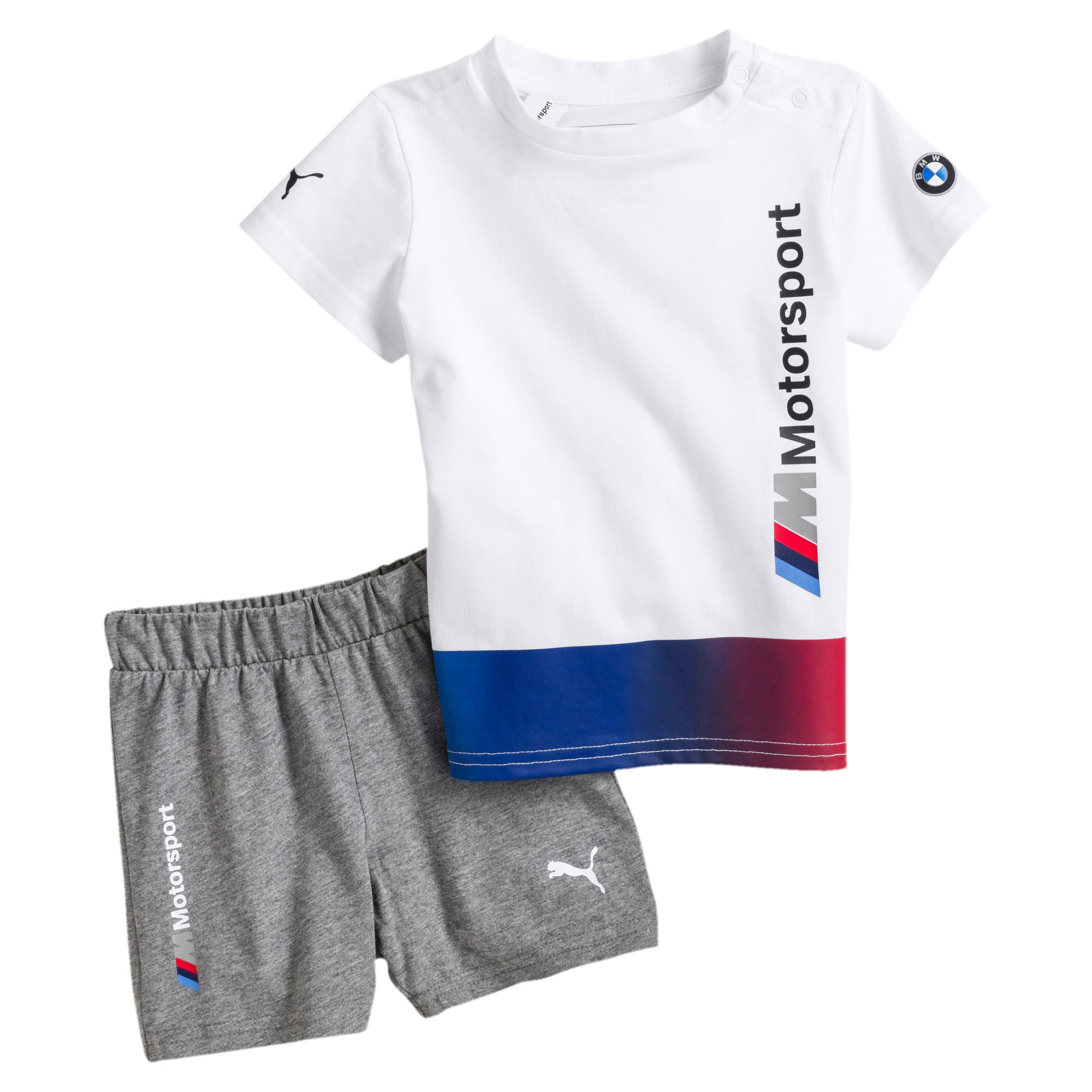 Thumbnail 1 of BMW M Motorsport Infant + Toddler Set, Puma White, medium