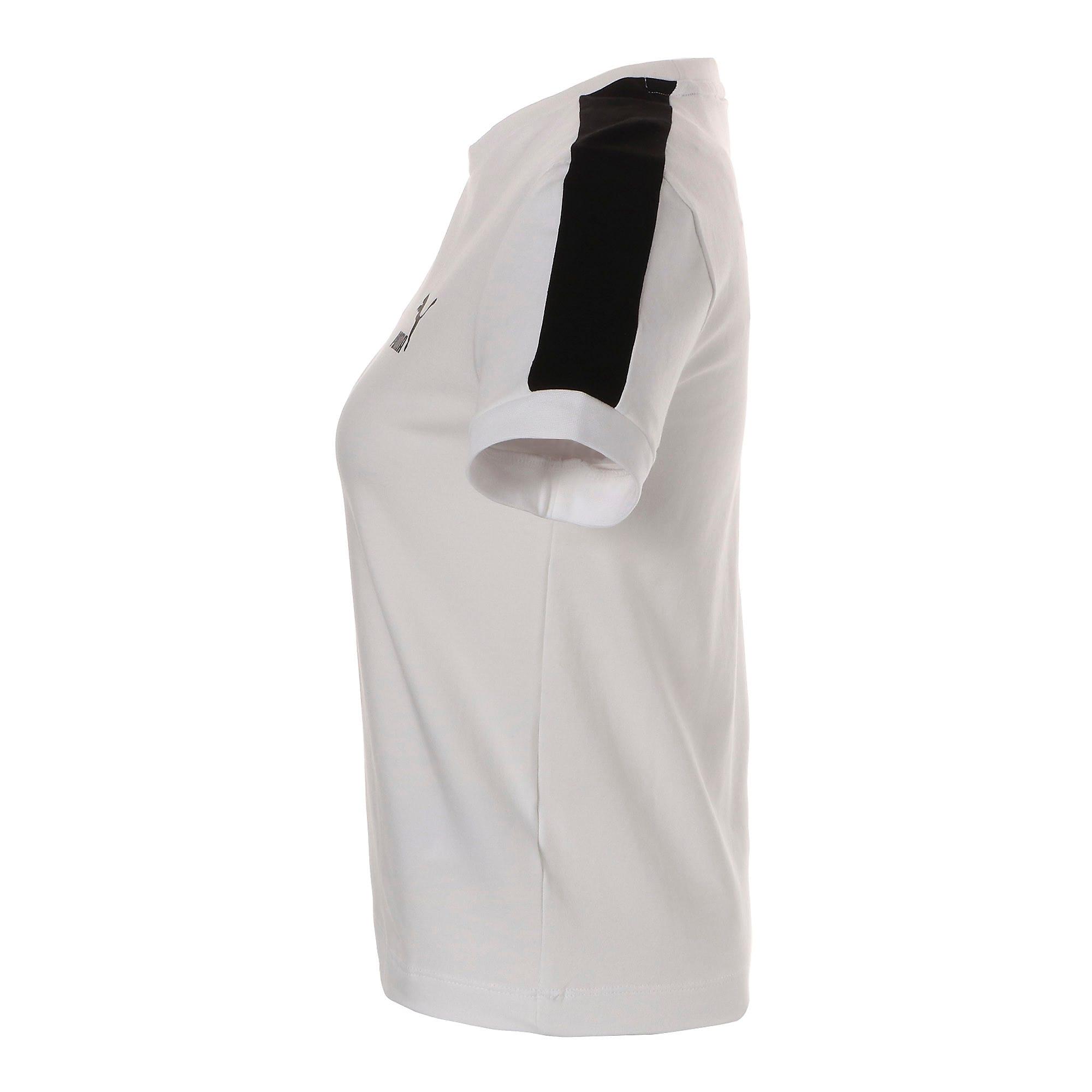 Thumbnail 9 of CLASSICS タイト ウィメンズ SS Tシャツ 半袖, Puma White-black, medium-JPN