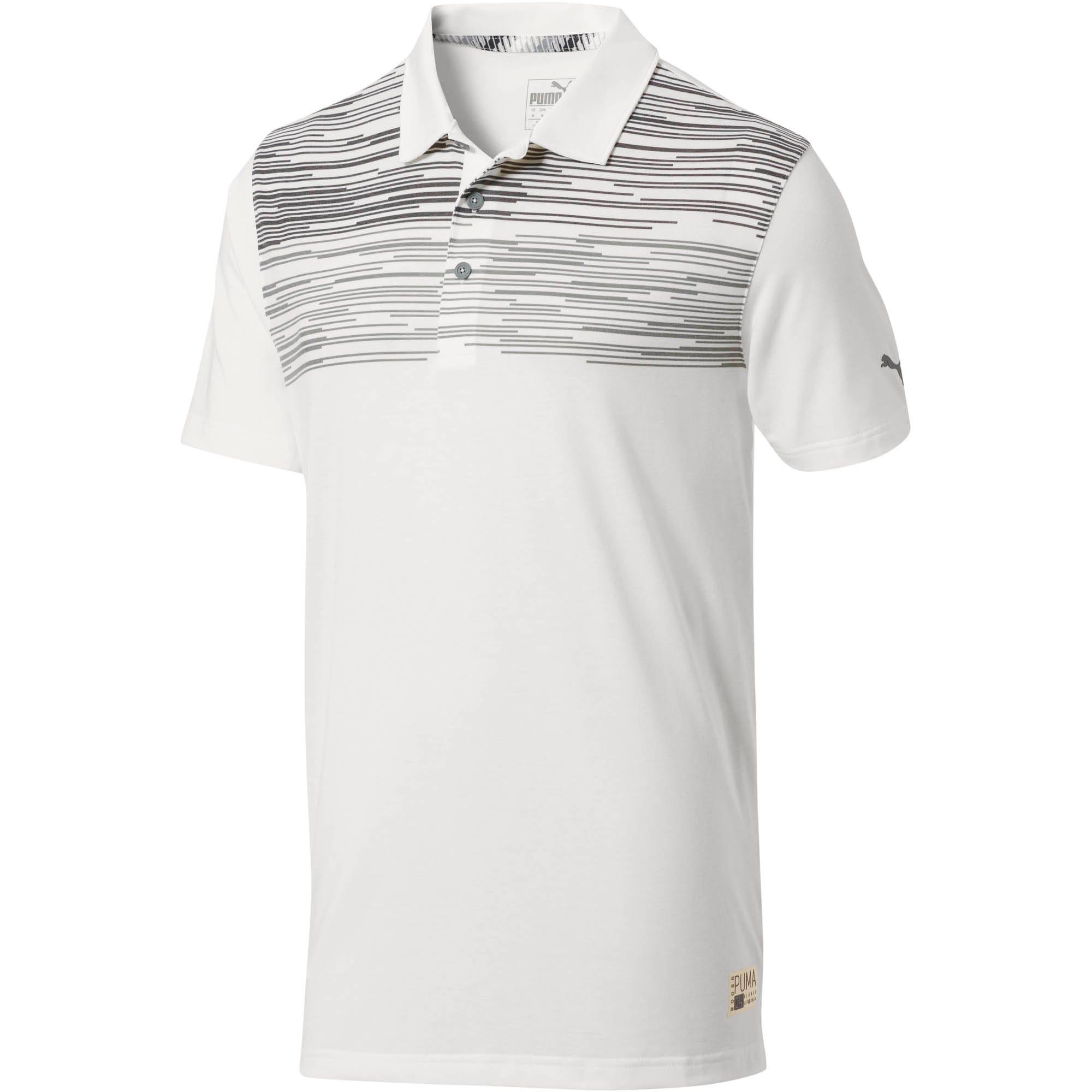 Miniatura 1 de Camiseta tipo polo Pin High para hombre, QUIET SHADE, mediano