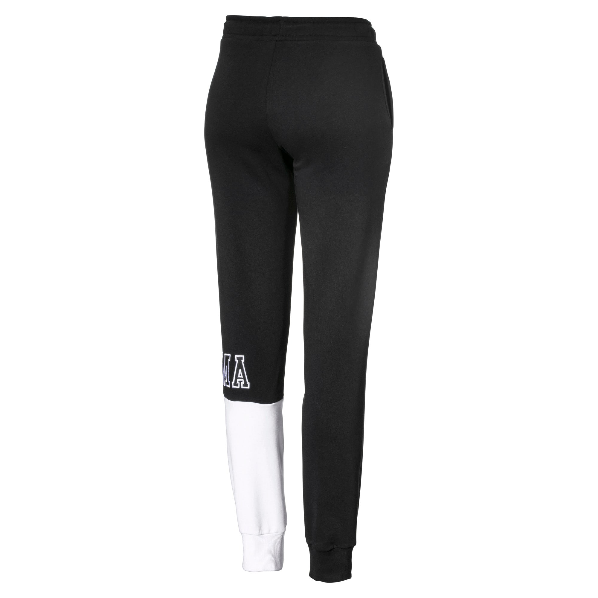 Thumbnail 2 of Pantalon avec cordon pour femme, Cotton Black, medium