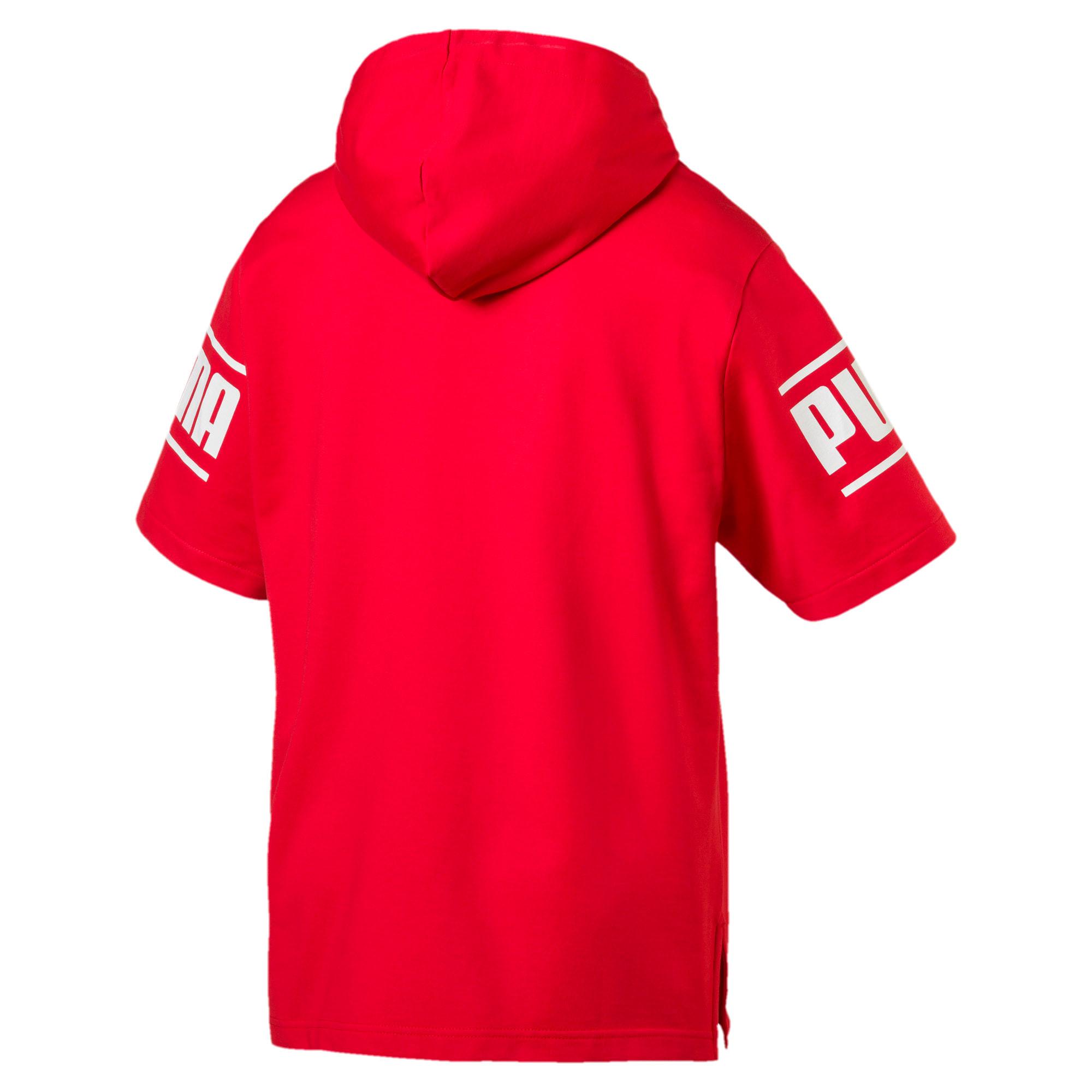 Thumbnail 3 of Camo Pack Men's Short Sleeve Hoodie, High Risk Red, medium