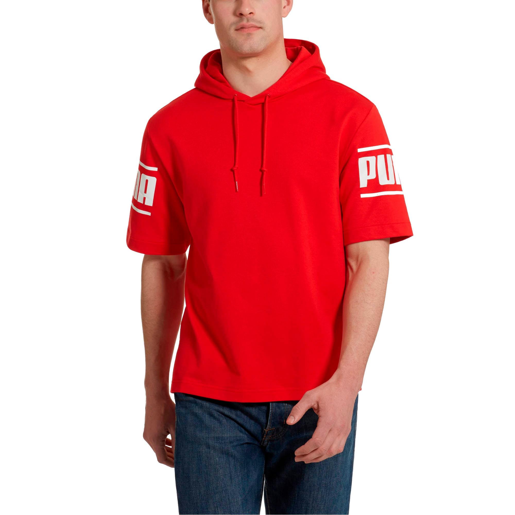 Thumbnail 2 of Camo Pack Men's Short Sleeve Hoodie, High Risk Red, medium