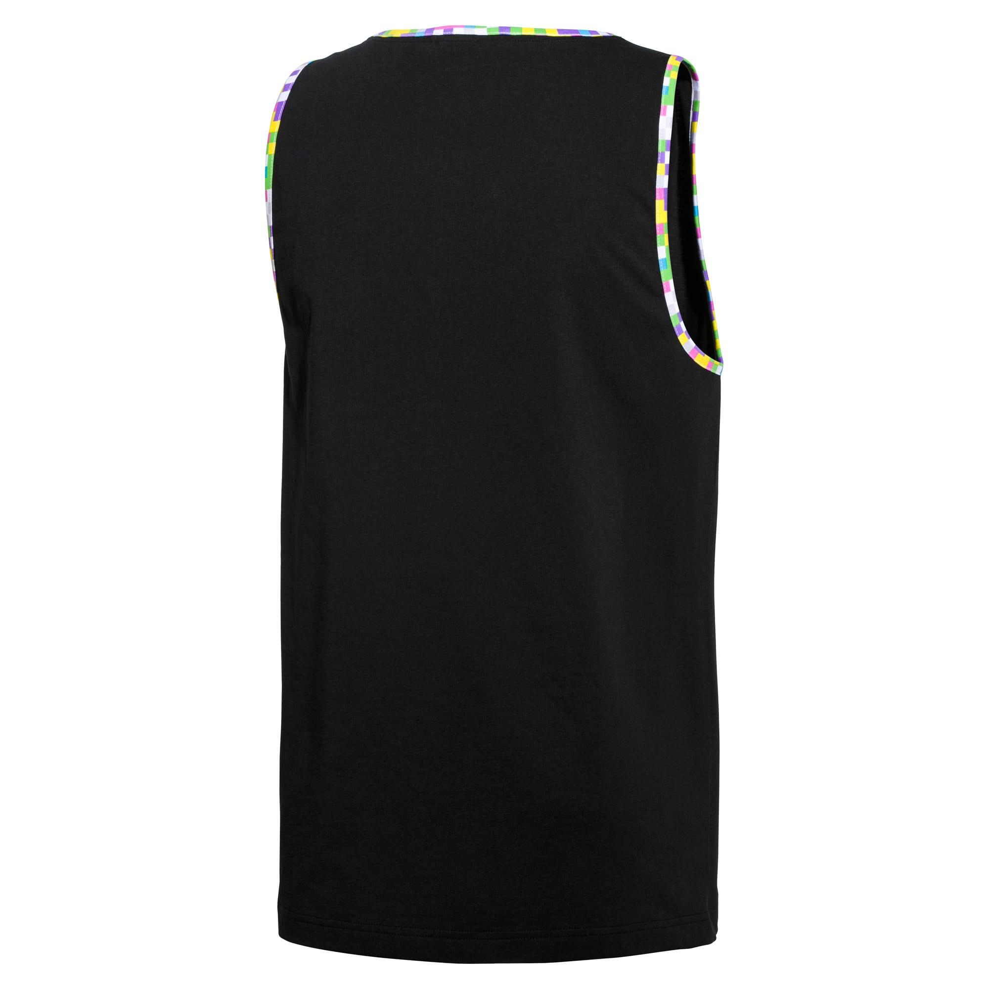 Miniatura 2 de Camiseta sin mangas PUMA x MTV para hombre, Puma Black, mediano