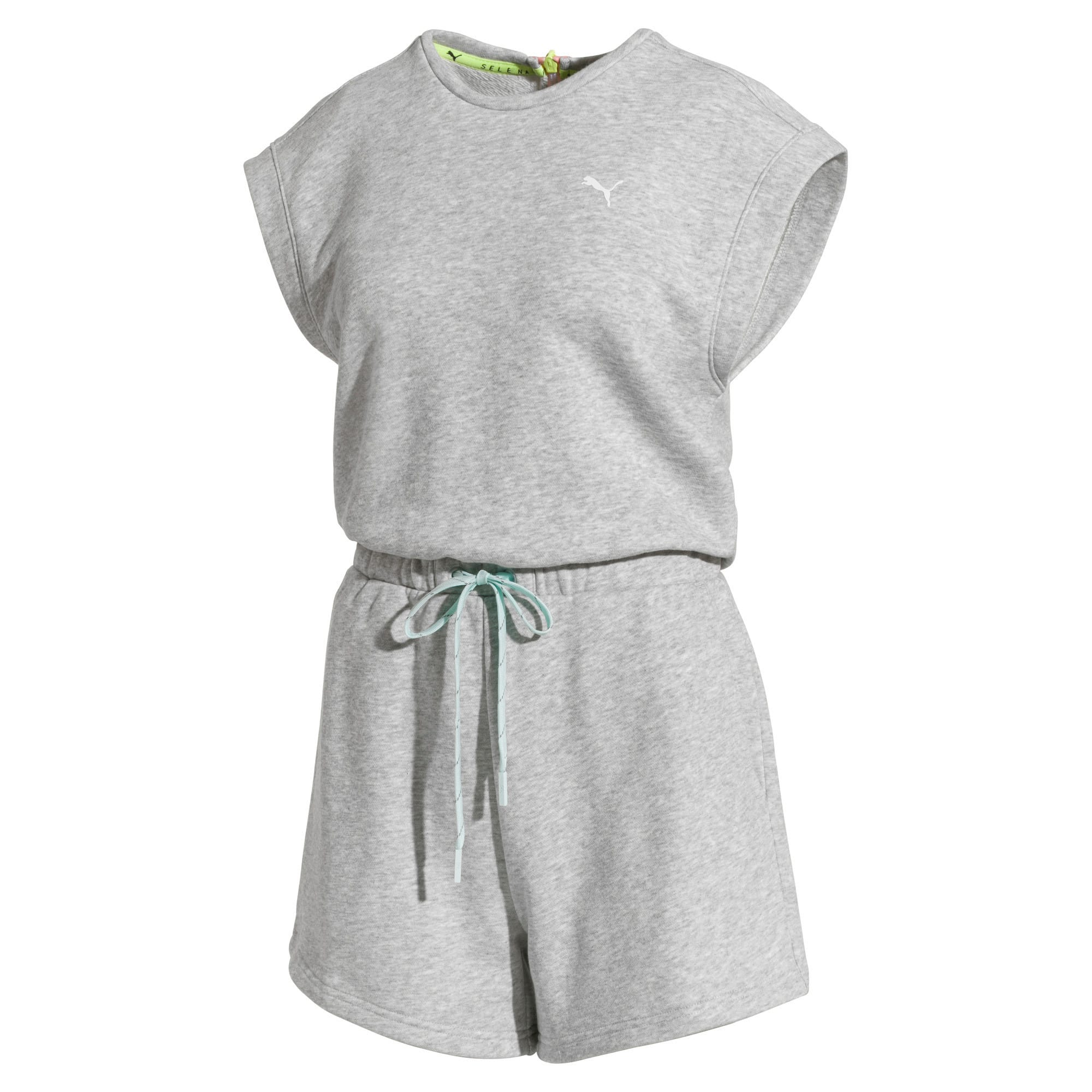 Thumbnail 4 of PUMA x SELENA GOMEZ Women's Romper, Light Gray Heather, medium