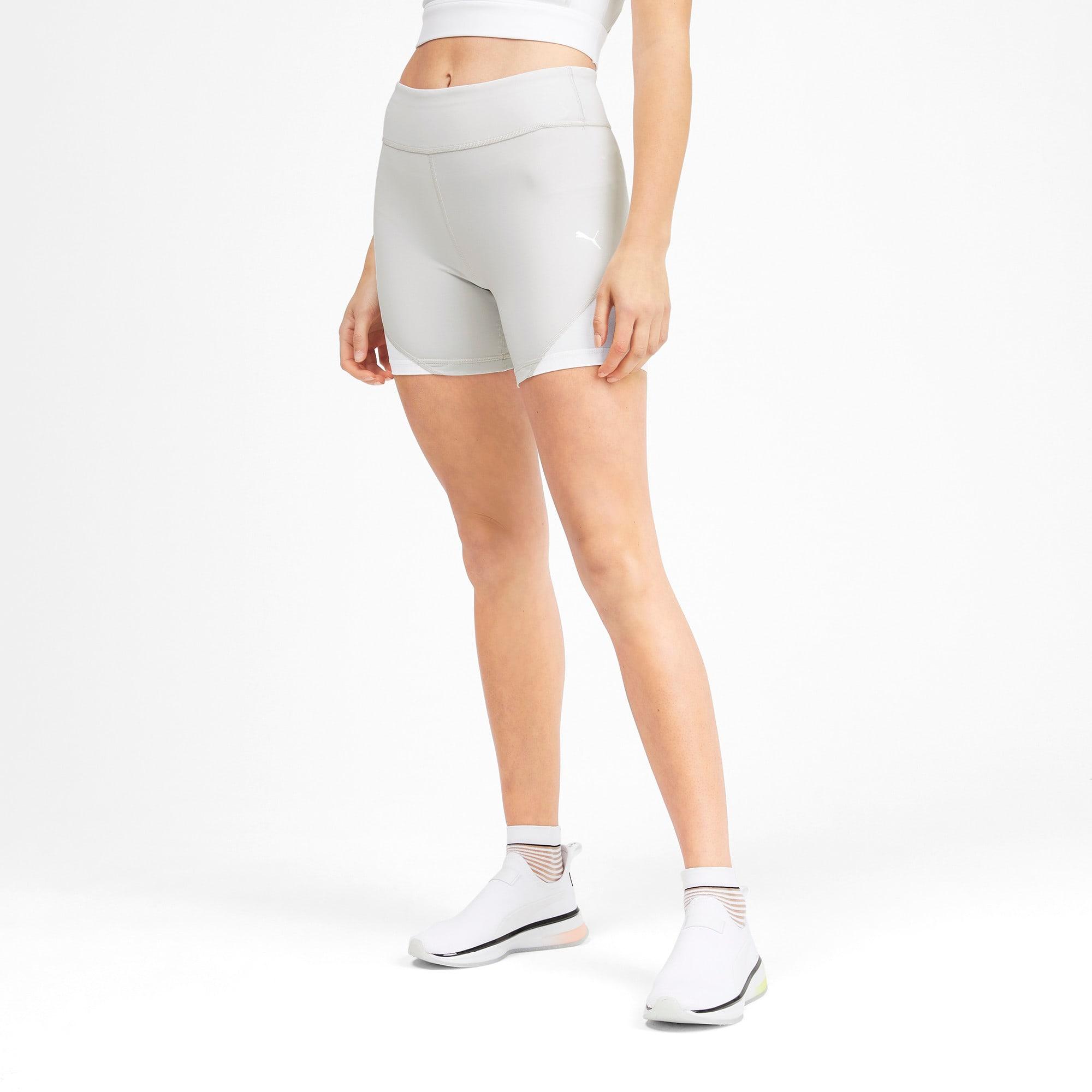 Miniatura 1 de Shorts SG x PUMA, Glacier Gray-Puma White, mediano