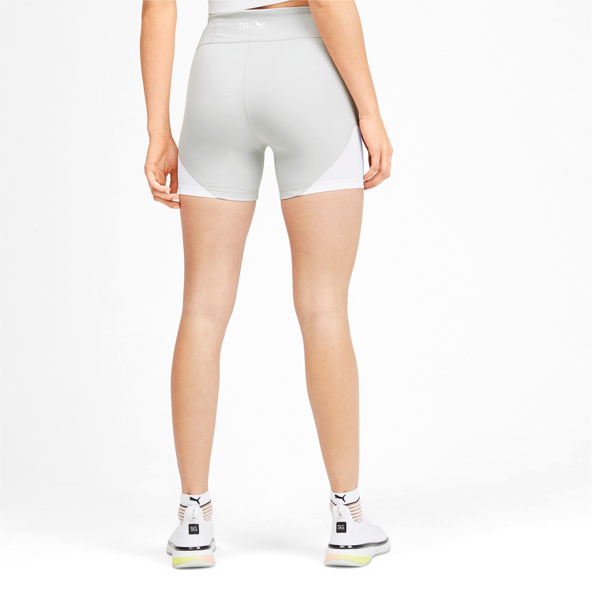 Miniatura 2 de Shorts SG x PUMA, Glacier Gray-Puma White, mediano