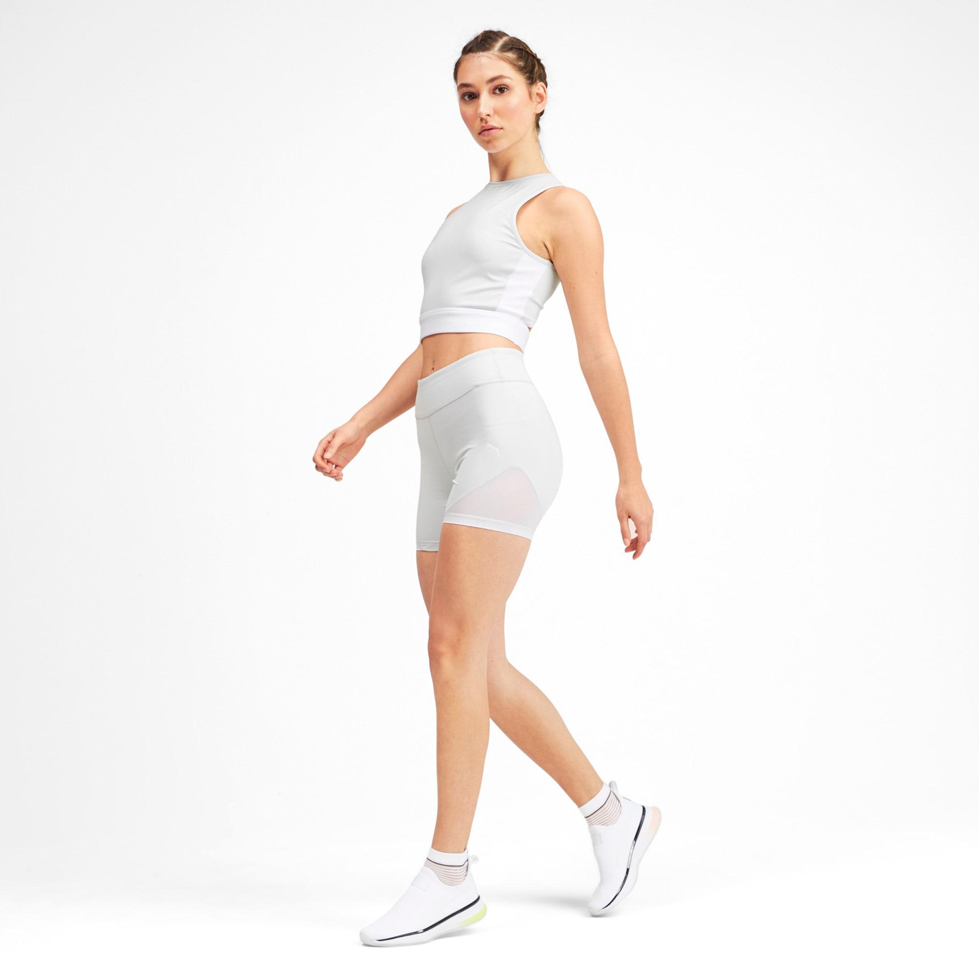 Miniatura 3 de Shorts SG x PUMA, Glacier Gray-Puma White, mediano