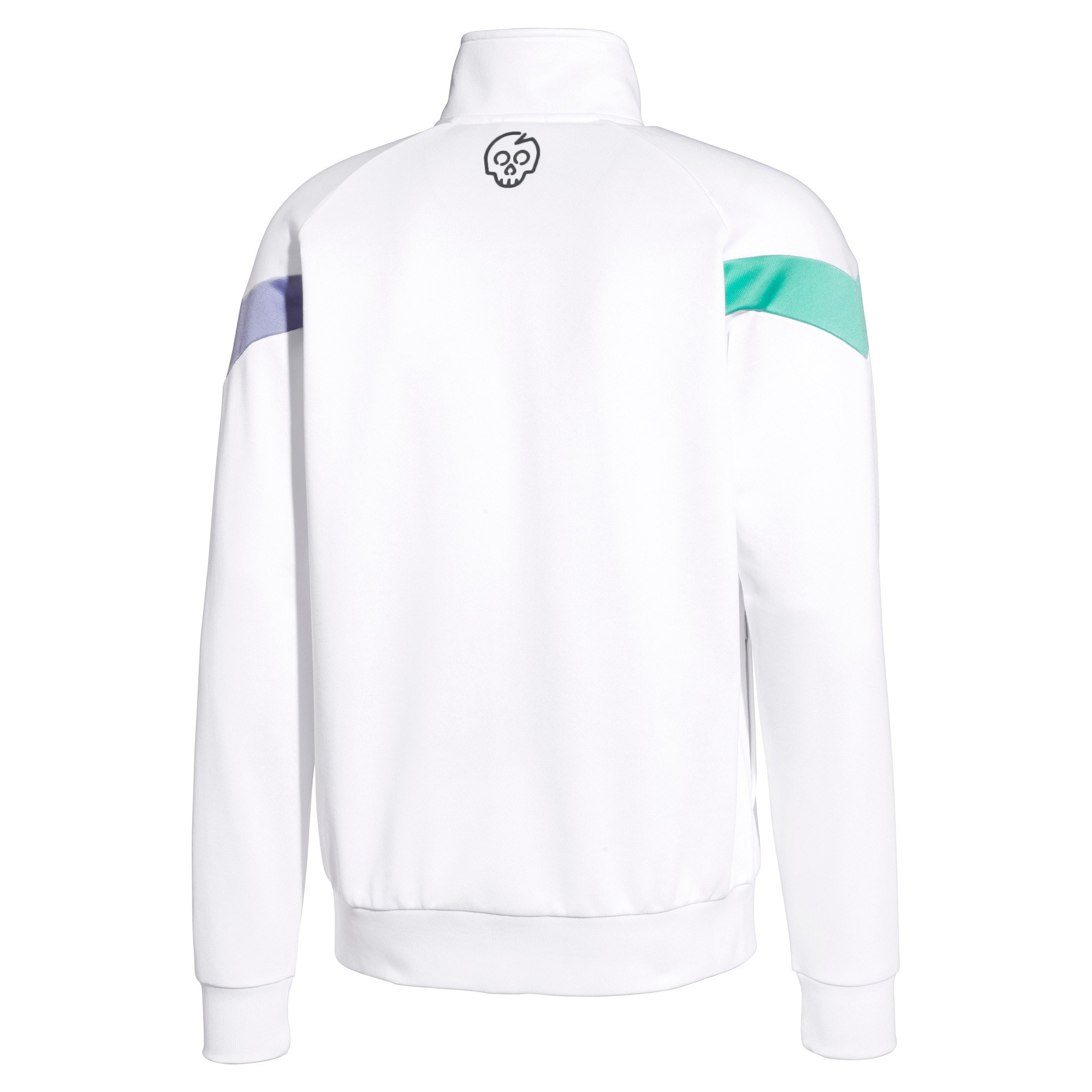Thumbnail 2 of PUMA x MTV MCS Men's Track Jacket, Puma White, medium