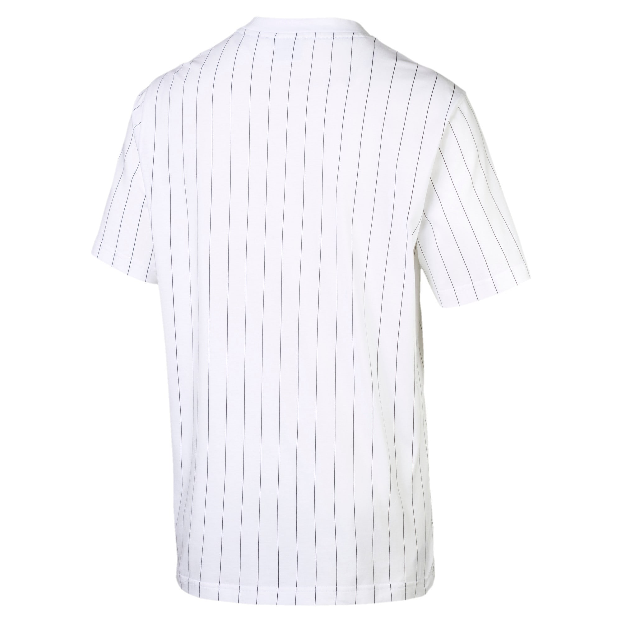 Thumbnail 4 of Archive Pinstripe Herren T-Shirt, Puma White, medium