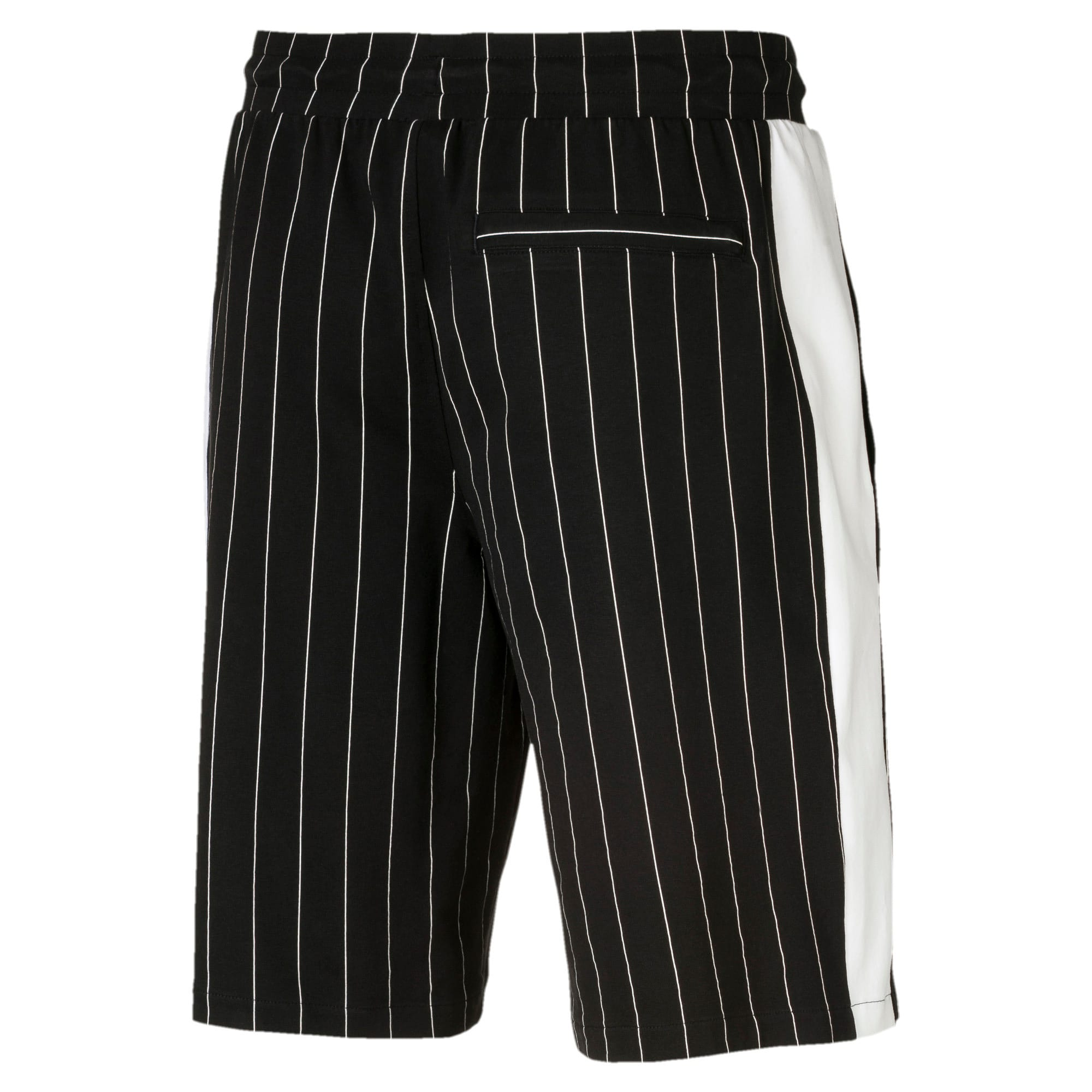 Thumbnail 4 of Short Archive Pinstripe pour homme, Puma Black, medium