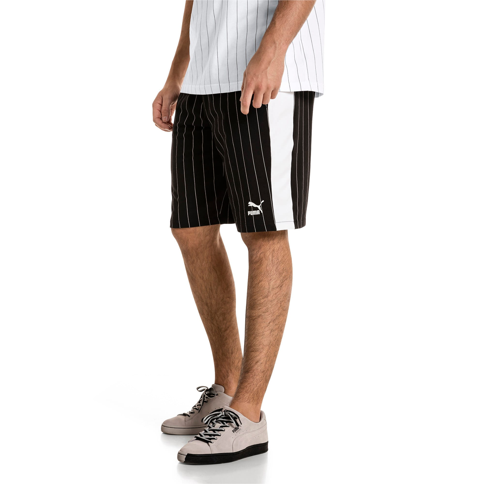 Thumbnail 2 of Short Archive Pinstripe pour homme, Puma Black, medium
