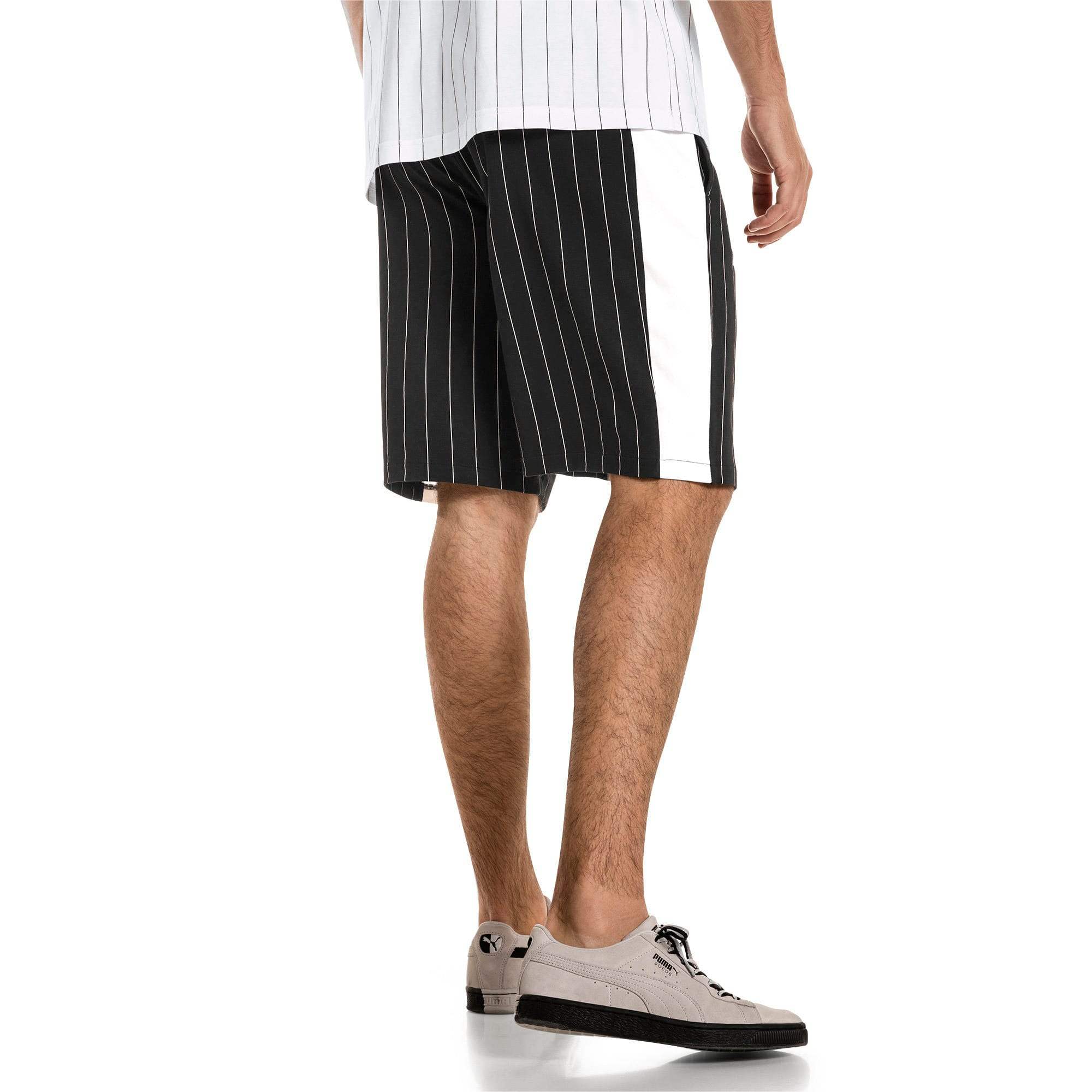 Thumbnail 3 of Short Archive Pinstripe pour homme, Puma Black, medium