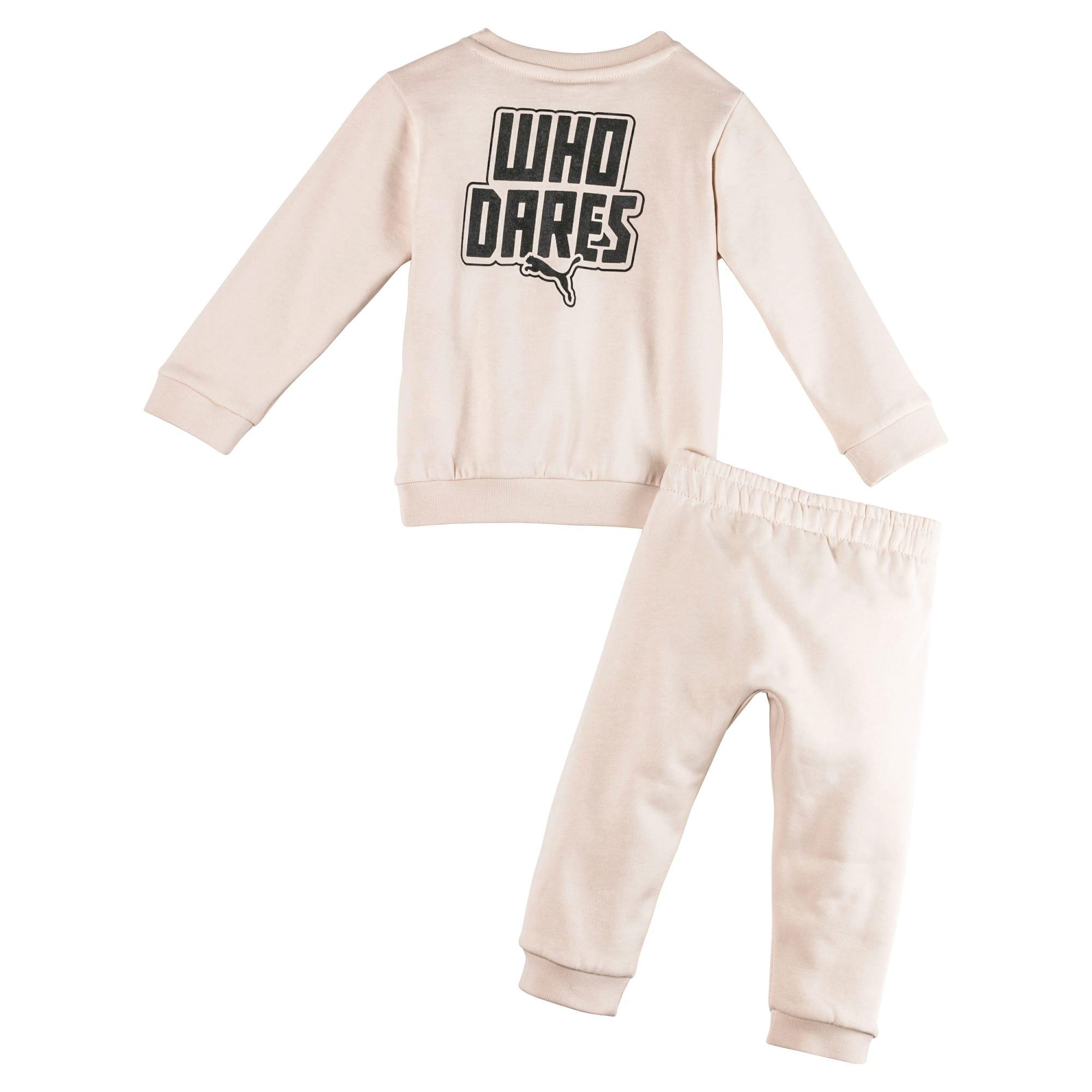 Thumbnail 2 van Joggingset voor baby's, Pink Tint, medium