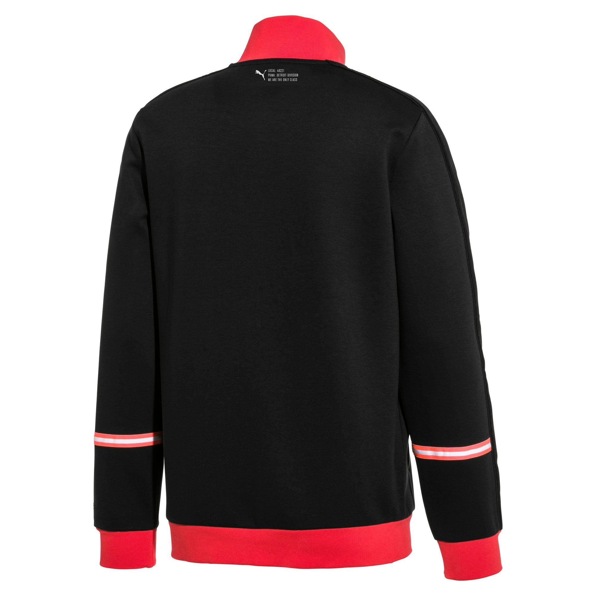 Thumbnail 2 of PUMA 91074 Men's T7 Track Top, Puma Black, medium